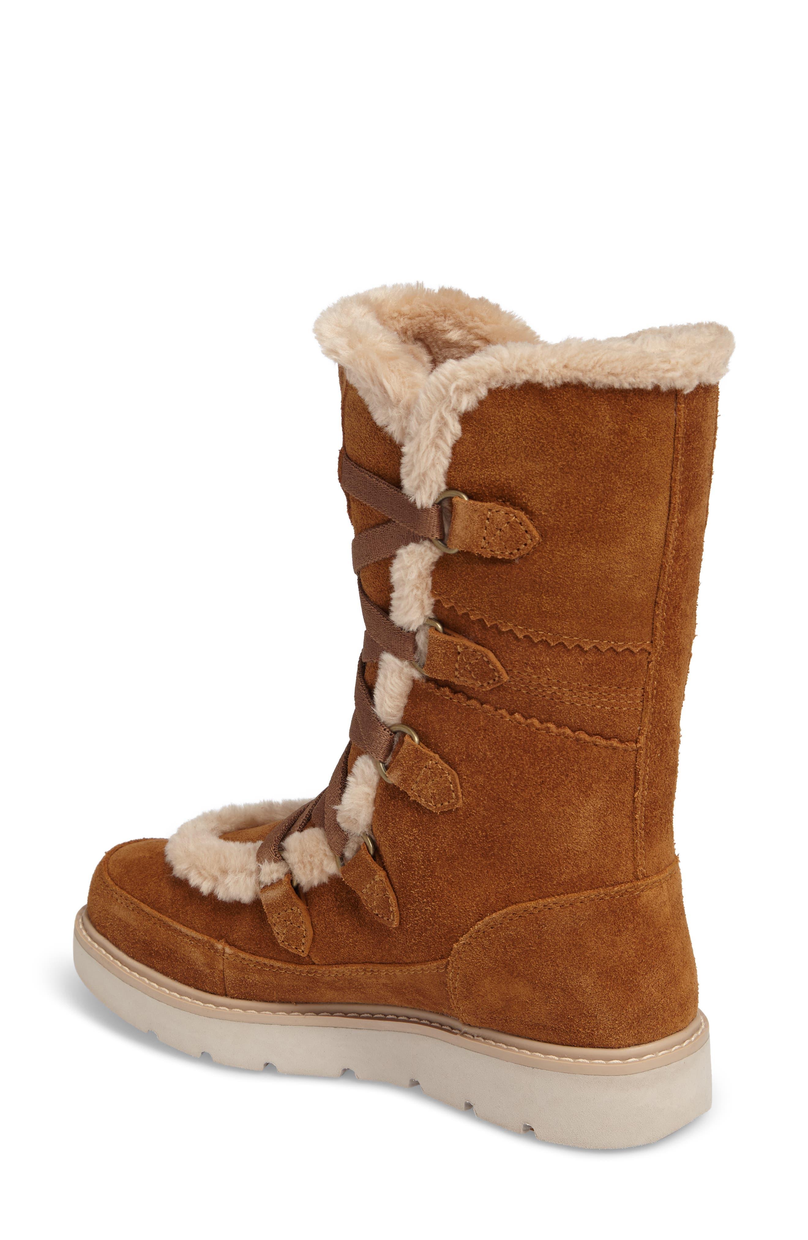 Alternate Image 2  - Timberland Kenniston Faux Fur Water Resistant Mukluk Boot (Women)