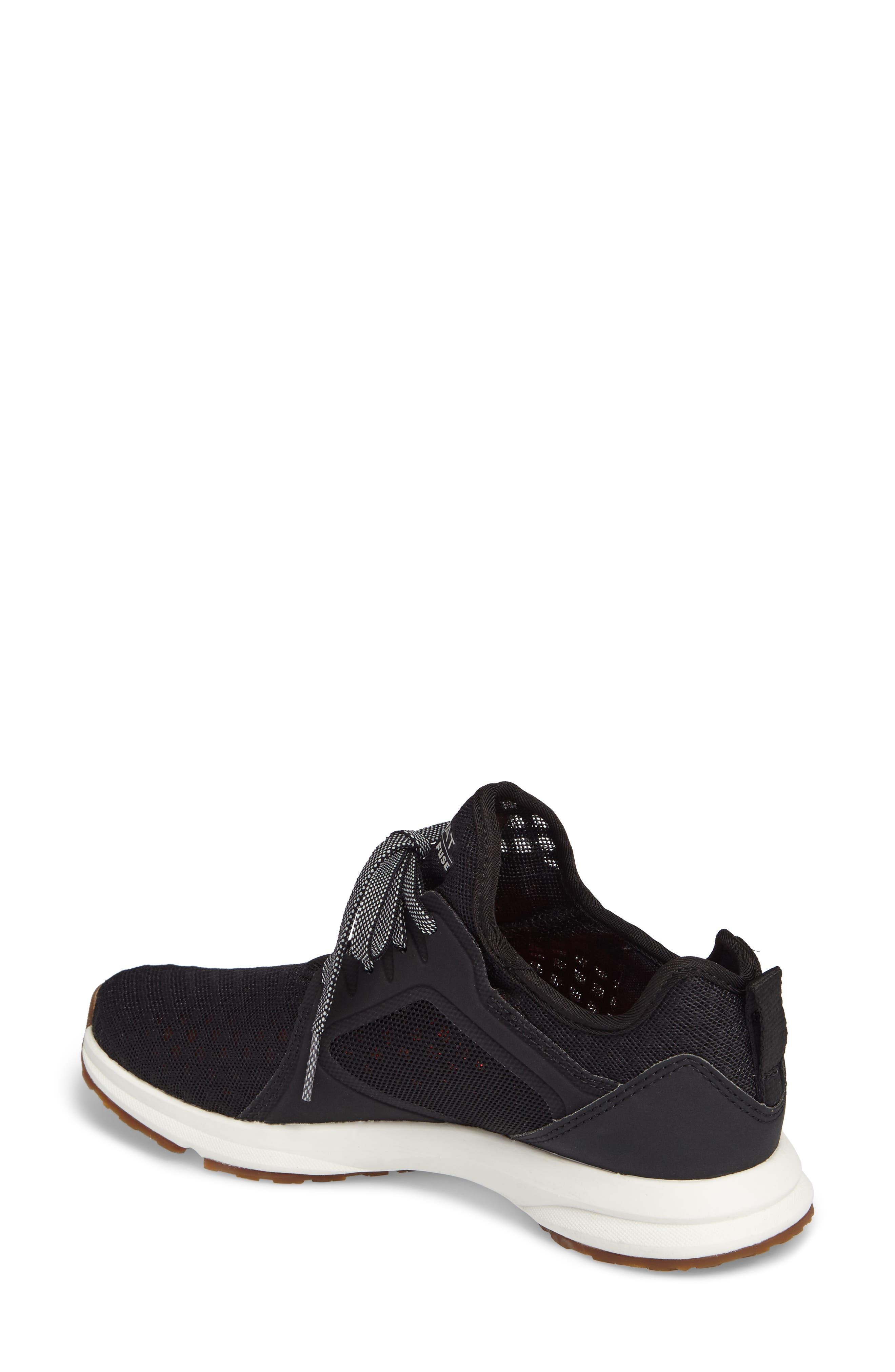 Fuse Sneaker,                             Alternate thumbnail 2, color,                             Black Mesh
