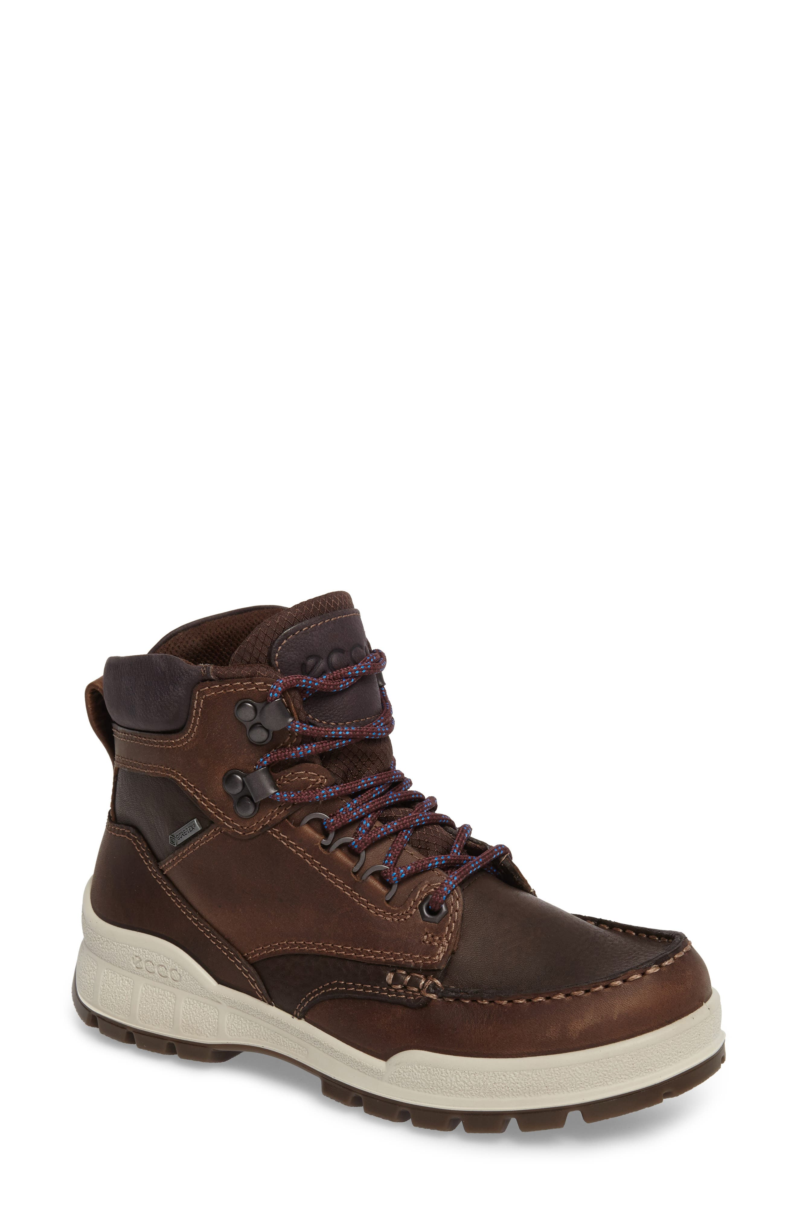 Track 25 Gore-Tex<sup>®</sup> Waterproof Hiking Boot,                         Main,                         color, Cocoa Brown Leather