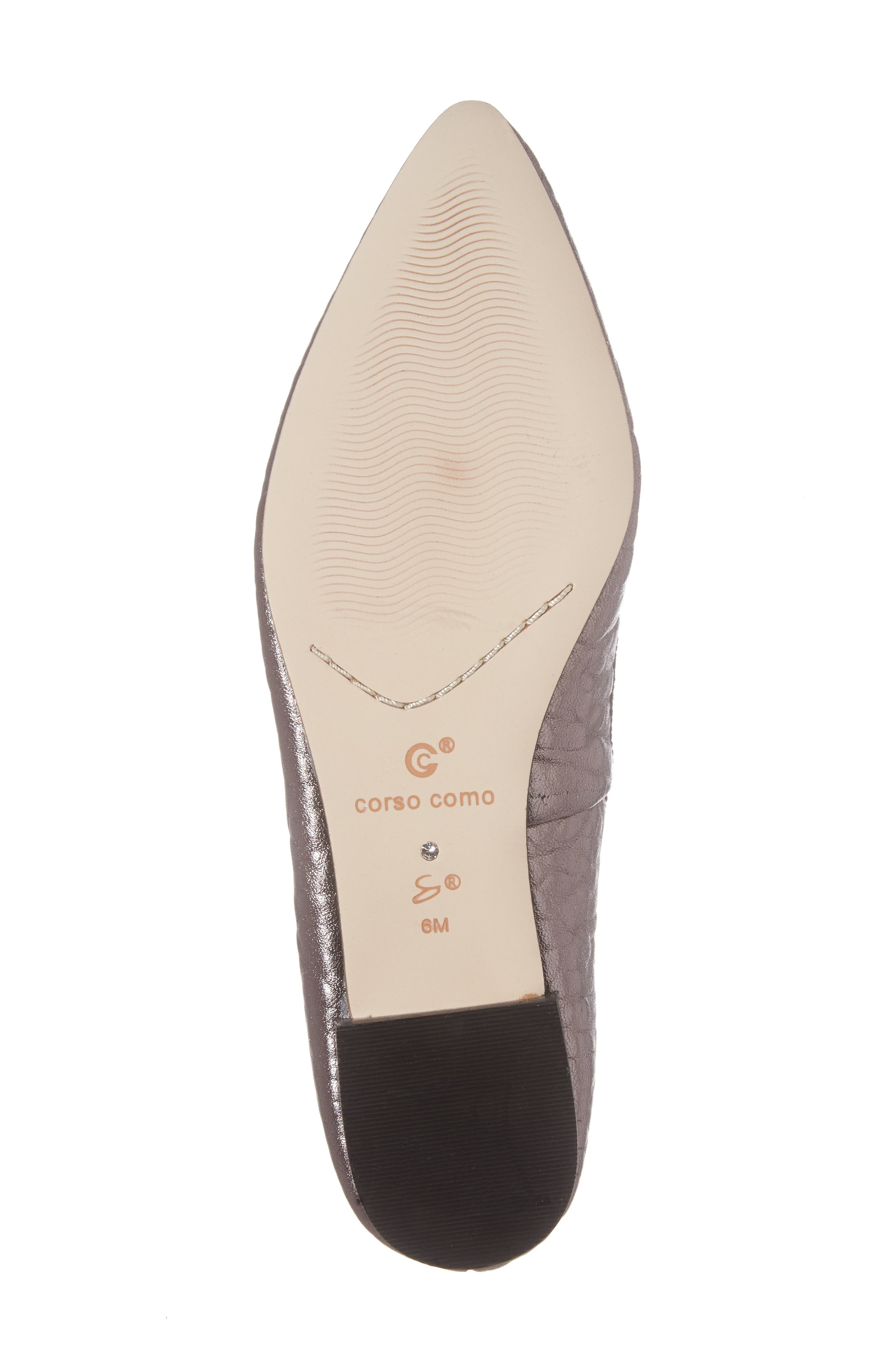Alternate Image 6  - Corso Como 'Recital' Pointy Toe Flat (Women)