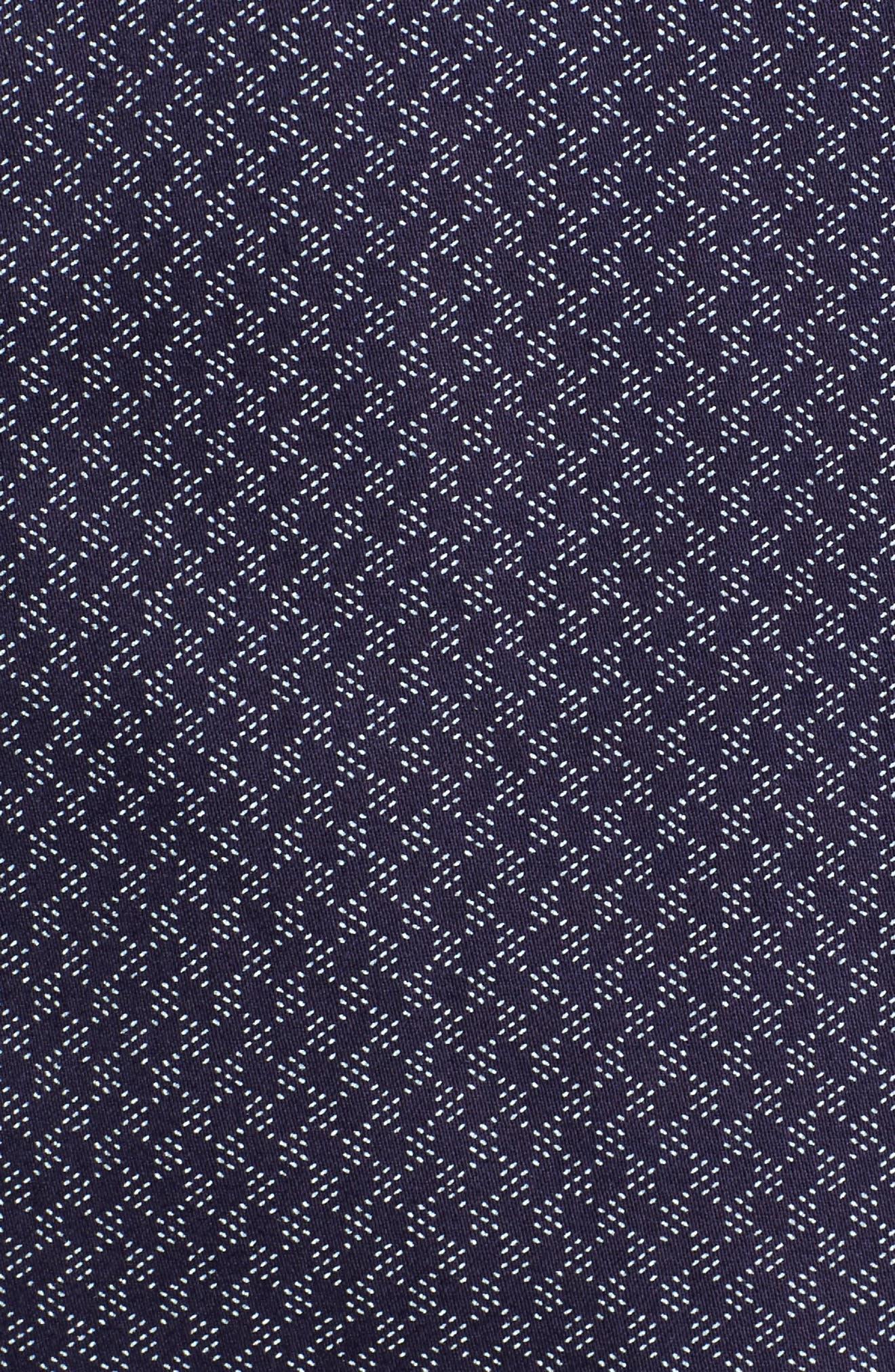 Alternate Image 6  - Ted Baker London Modern Slim Fit Print Sport Shirt