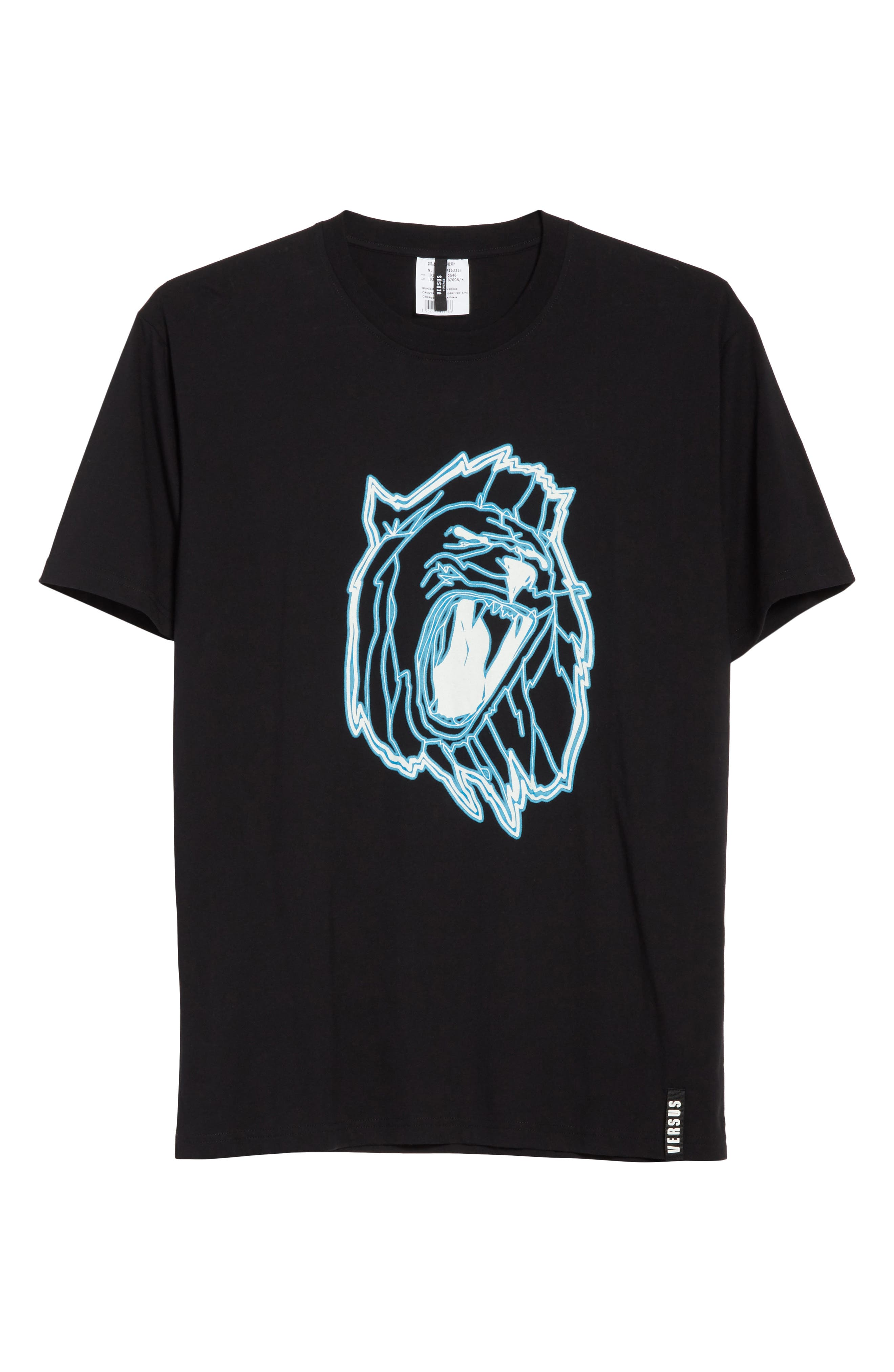 Alternate Image 6  - VERSUS by Versace Electric Lion Graphic T-Shirt