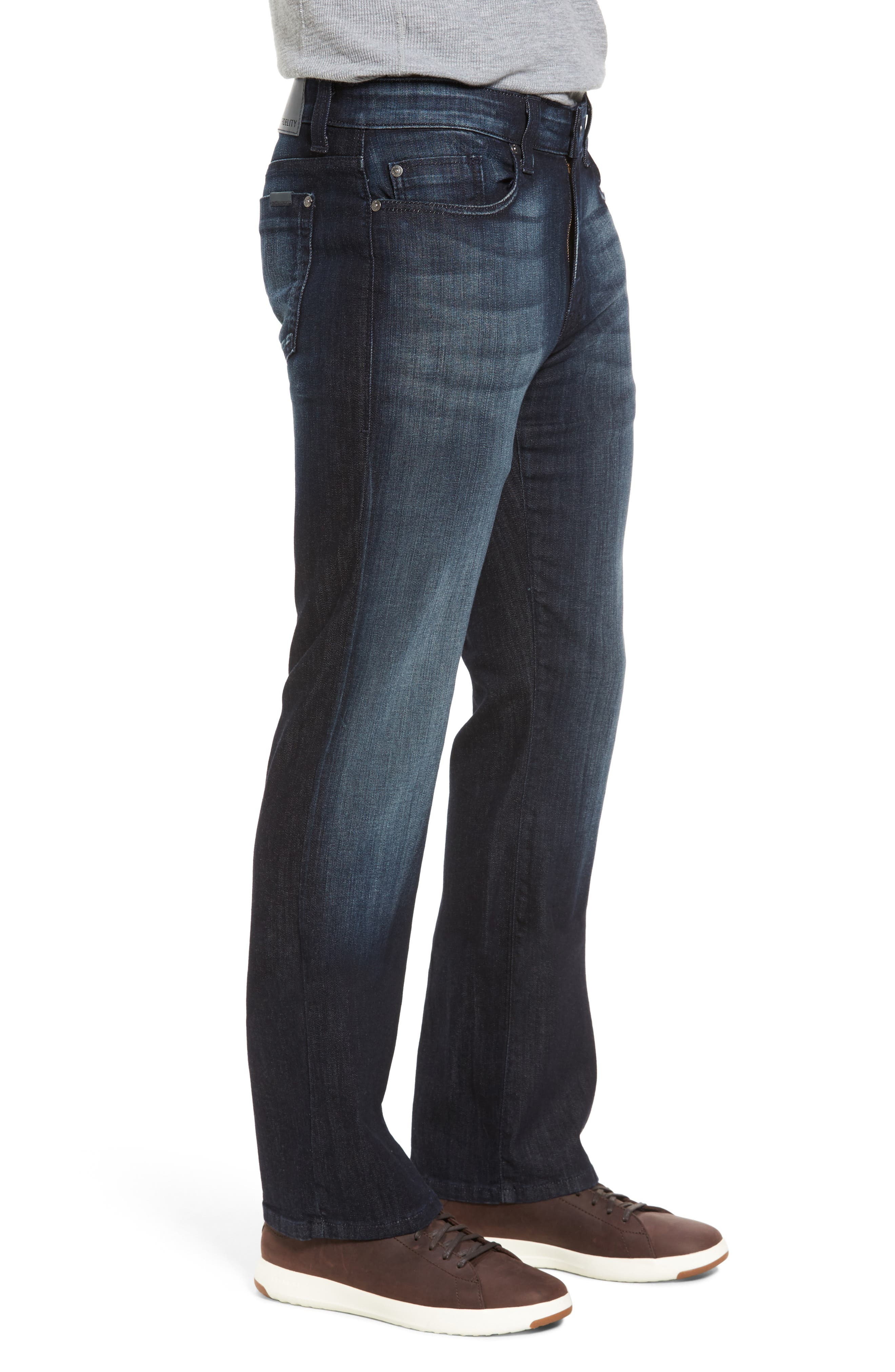 Alternate Image 3  - Fidelity Denim 5011 Relaxed Fit Jeans (Brooklyn Blue)