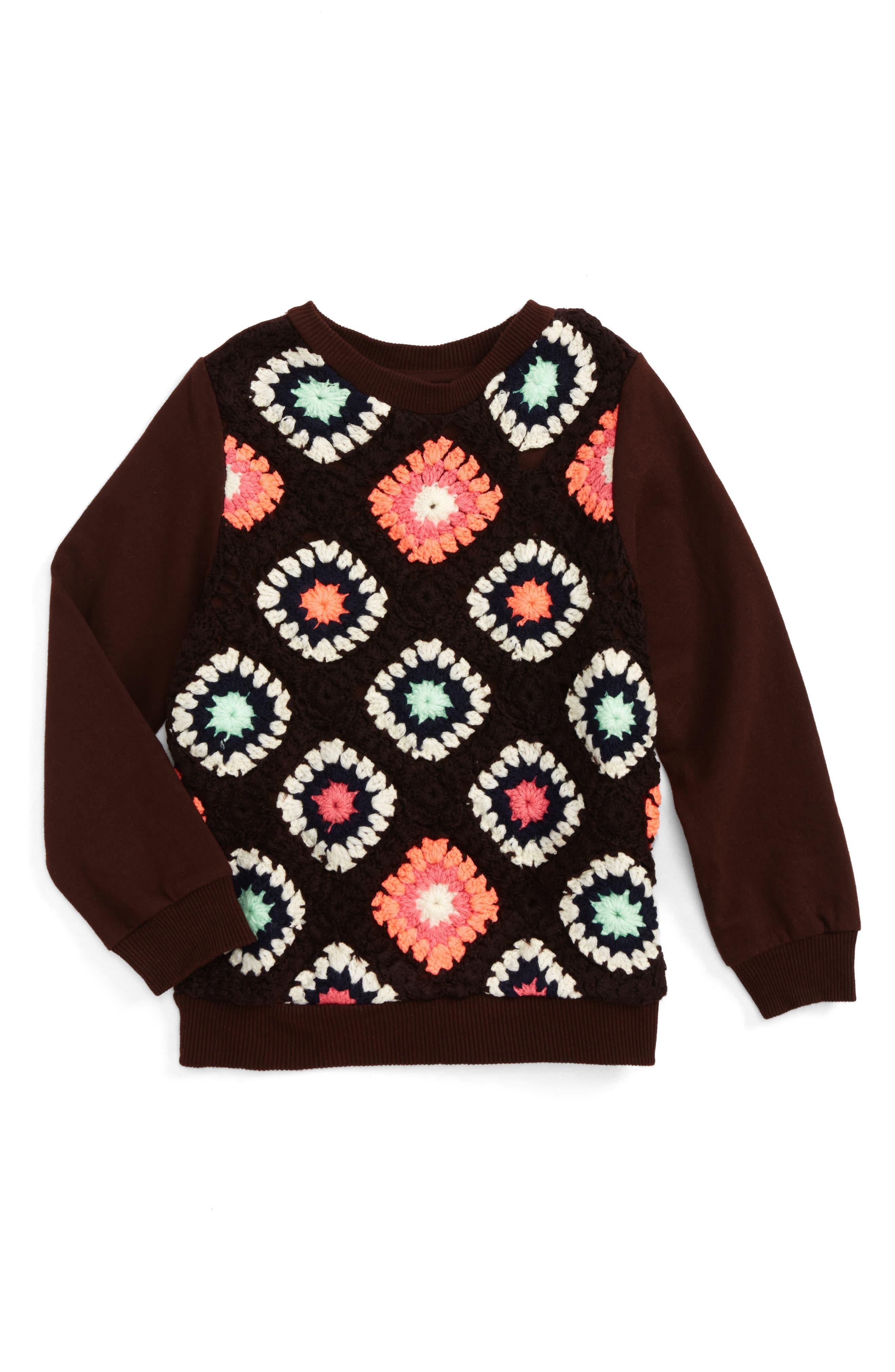 Peek Cleo Sweater (Toddler Girls, Little Girls & Big Girls)
