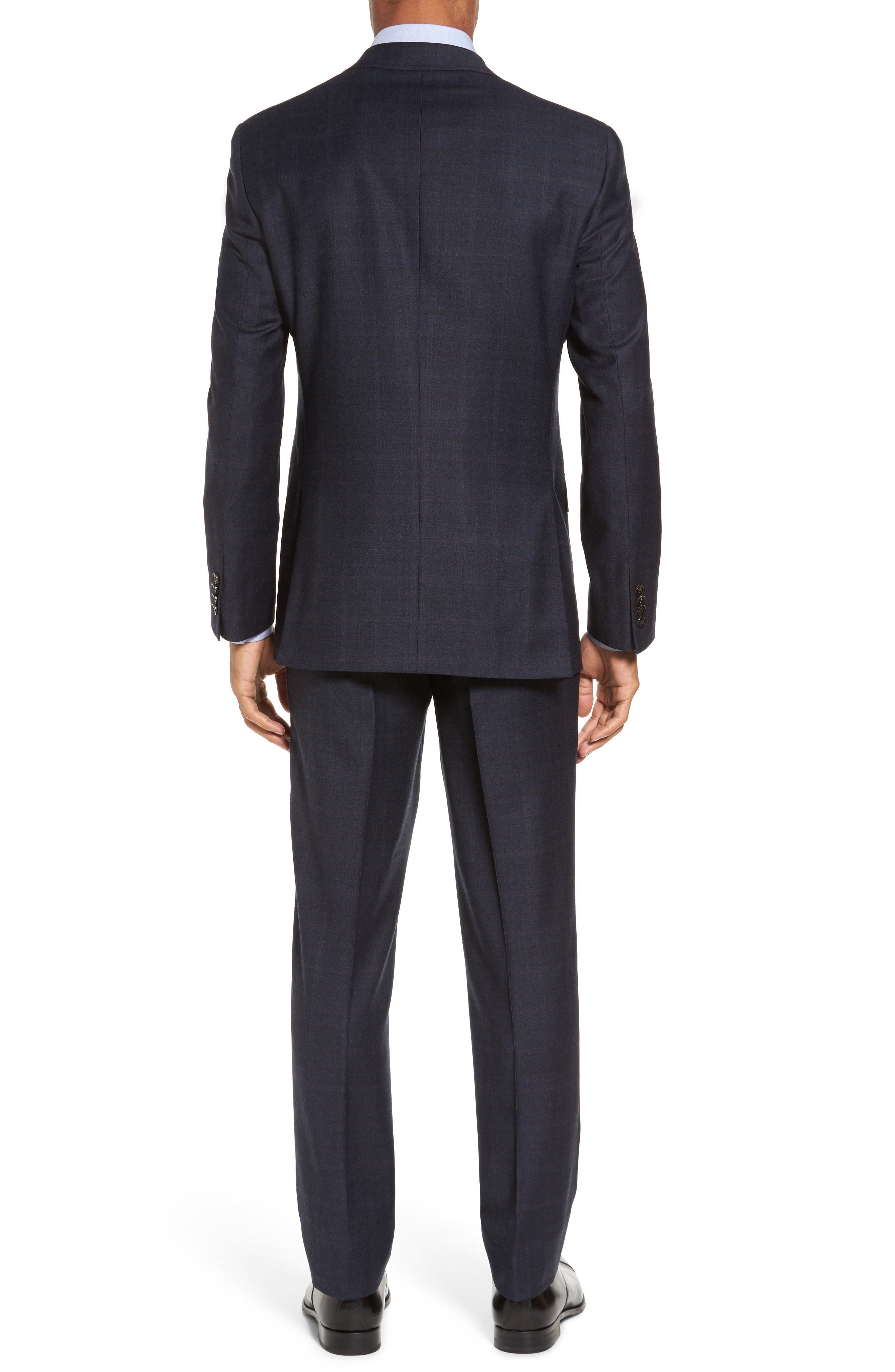 Alternate Image 2  - Ted Baker London Jay Trim Fit Plaid Wool Suit