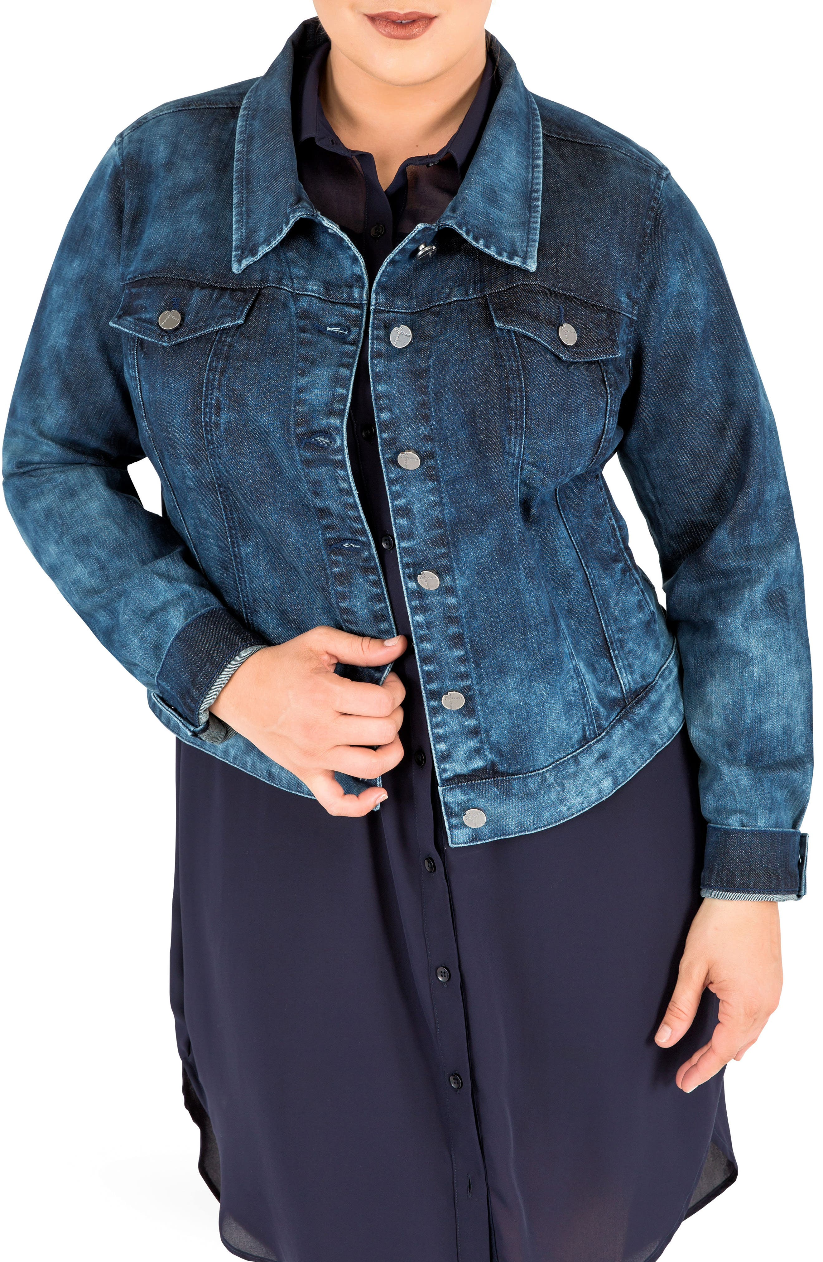 Standards & Practices Belinda Denim Jacket (Plus Size)