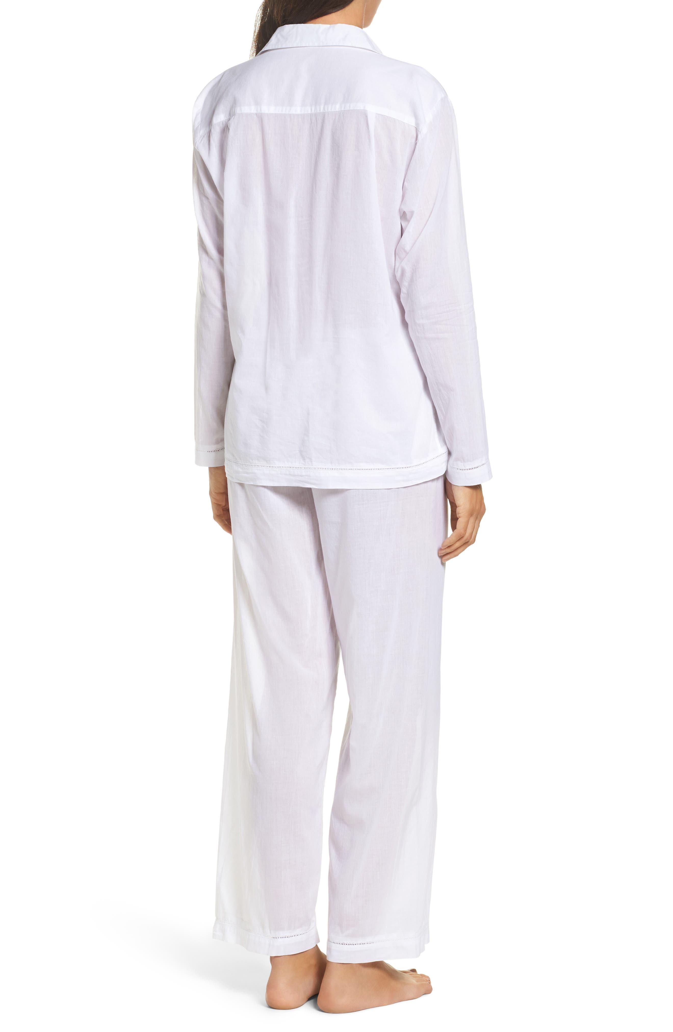 Alternate Image 2  - Pour Les Femmes Classic Pajamas