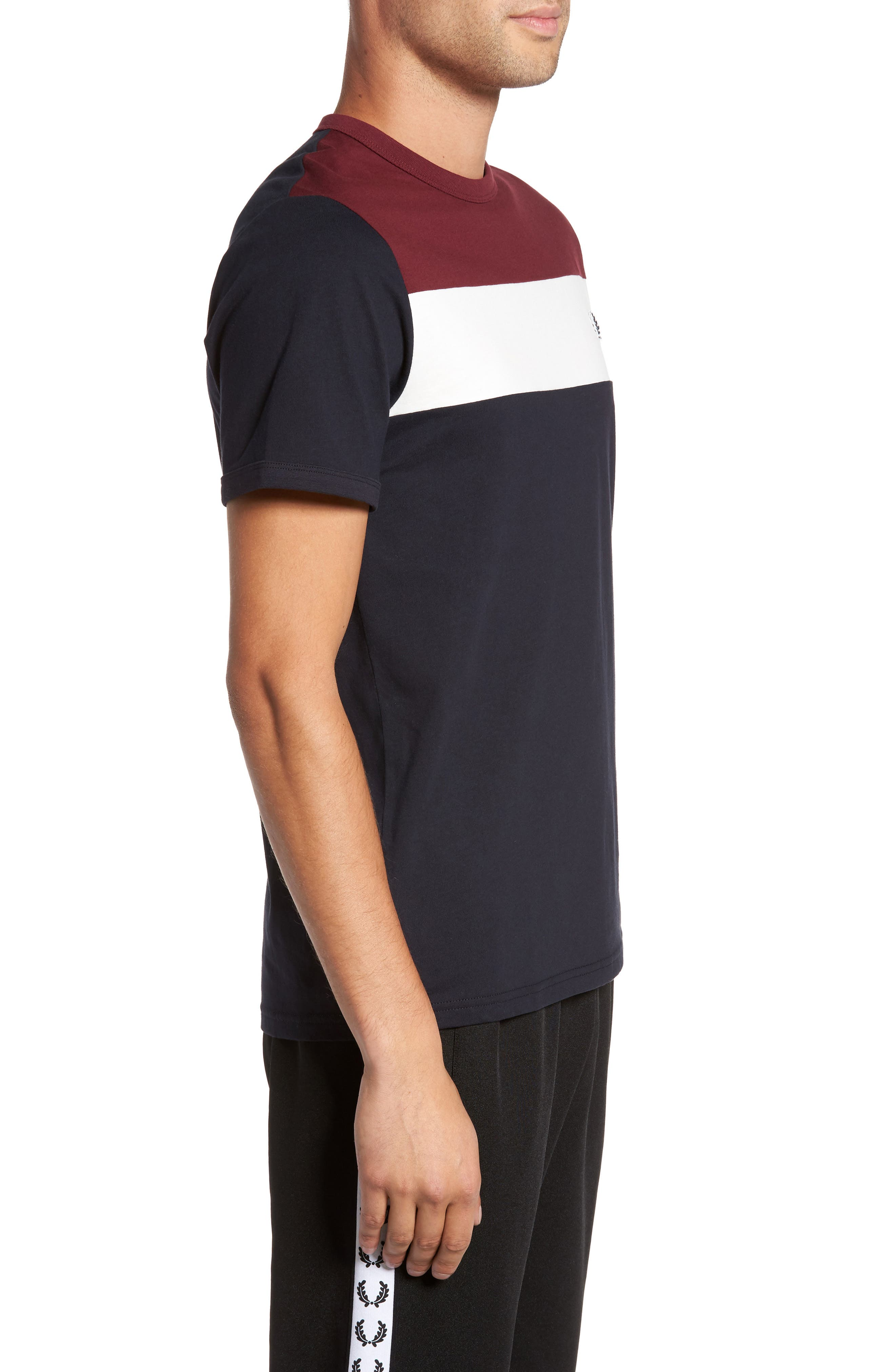 Alternate Image 3  - Fred Perry Colorblock T-Shirt