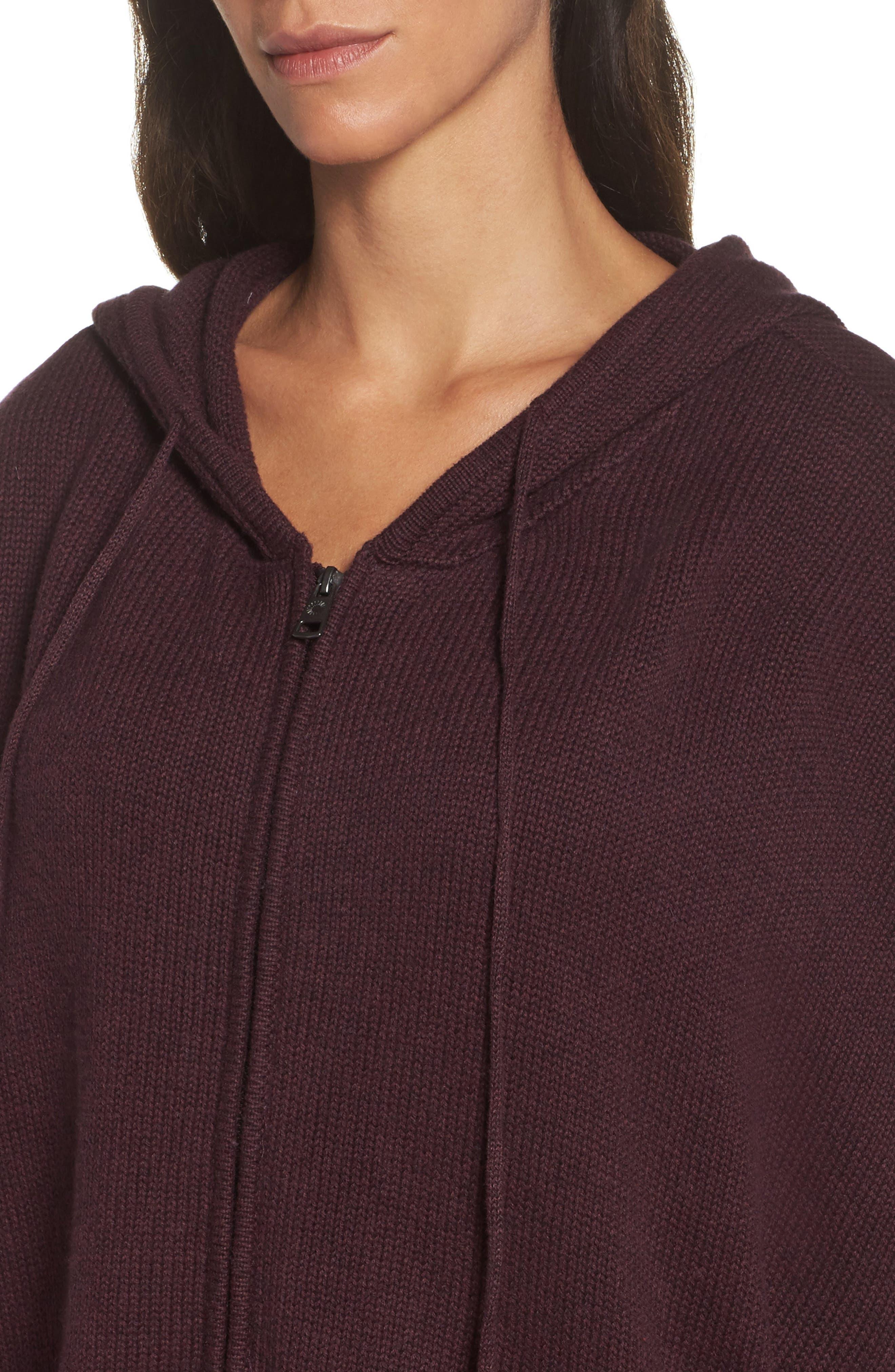 Alternate Image 5  - UGG® Sweater Knit Poncho