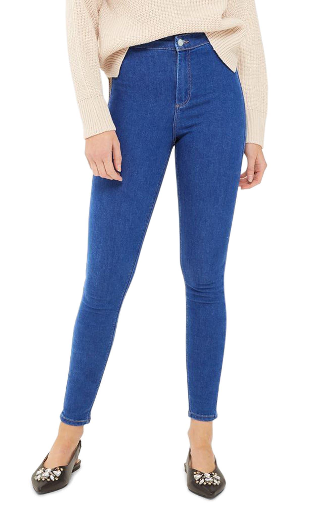 Topshop Joni High Waist Ankle Skinny Jeans