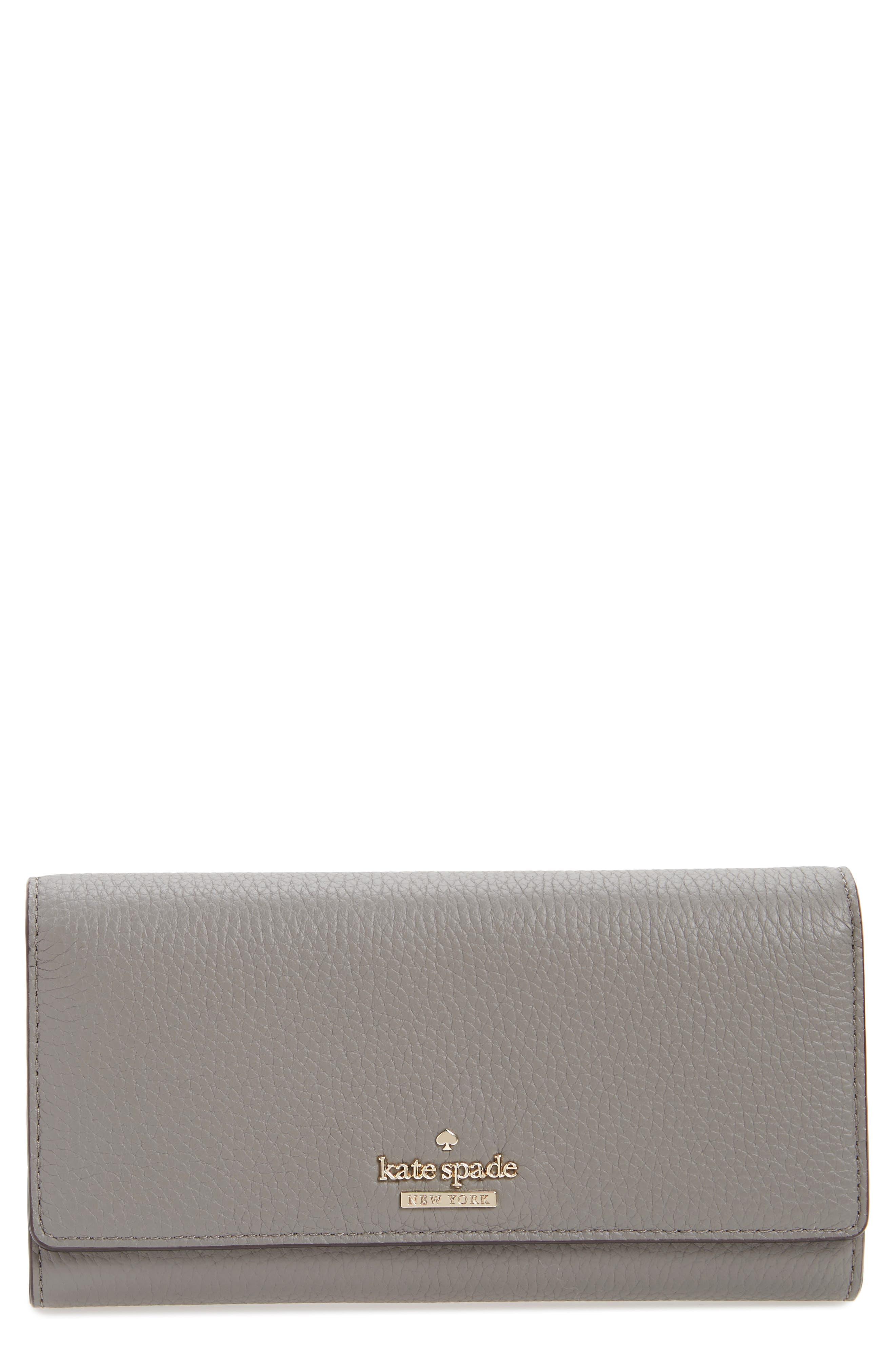 kate spade new york jackson street - celina leather wallet