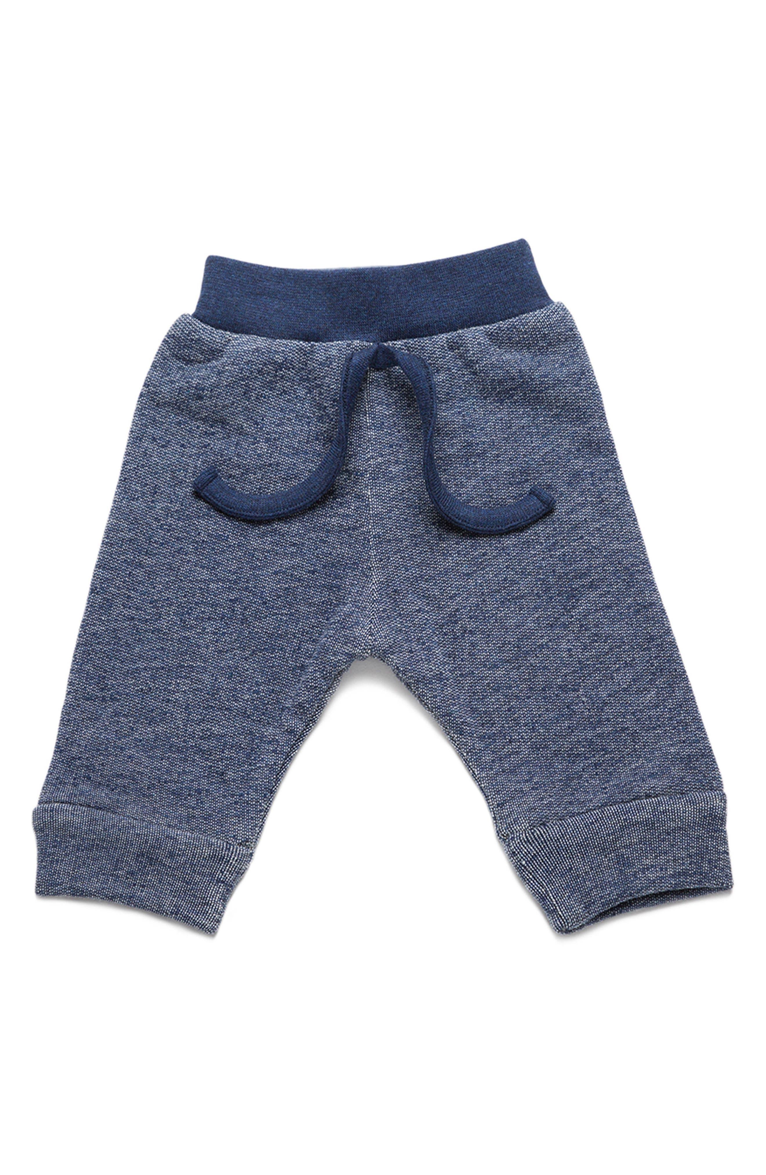 Main Image - Monica + Andy Organic Cotton Sweatpants (Baby Boys)