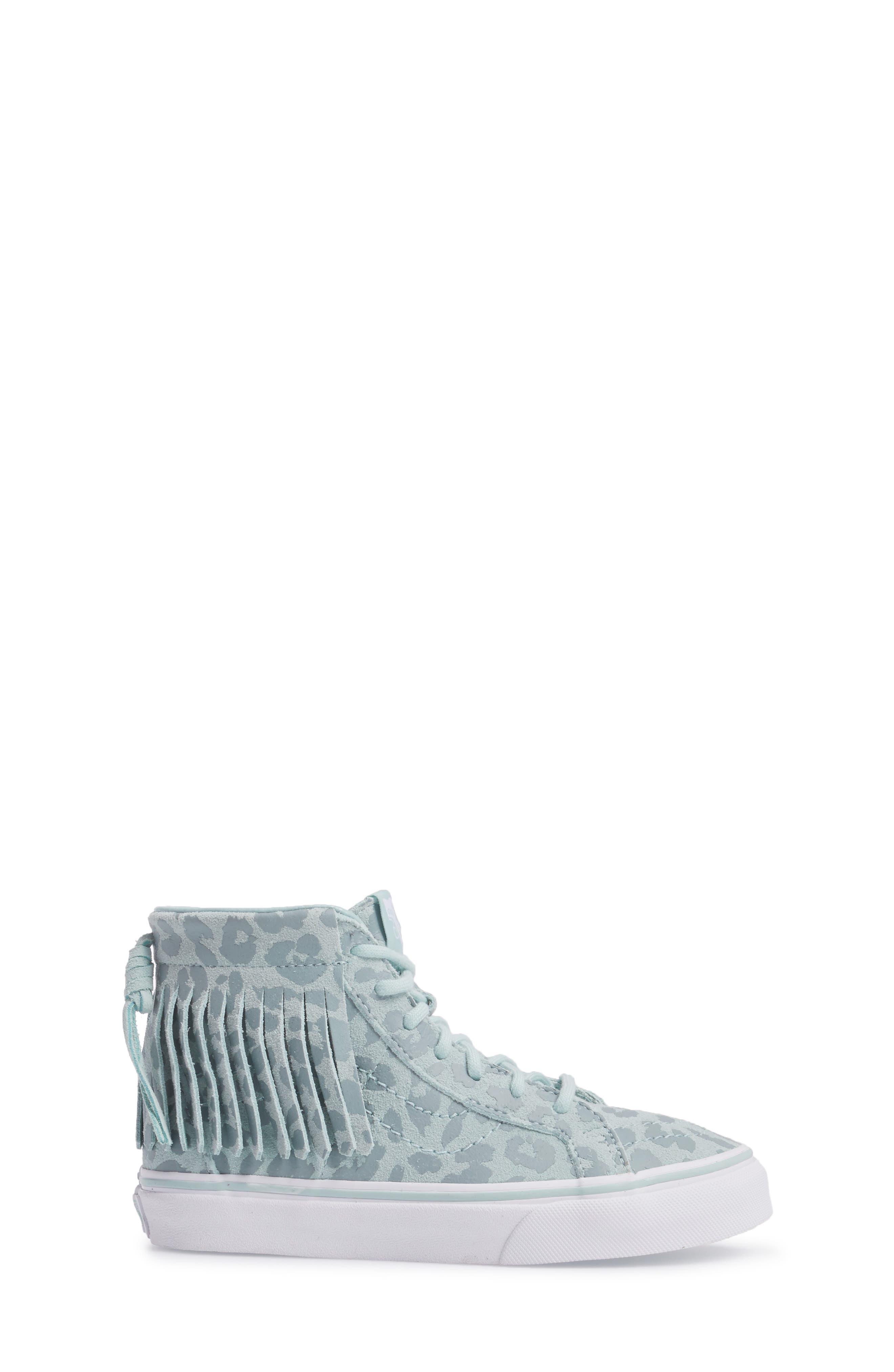 Chukka V Moc Sneaker,                             Alternate thumbnail 3, color,                             Harbor Gray Leopard Suede