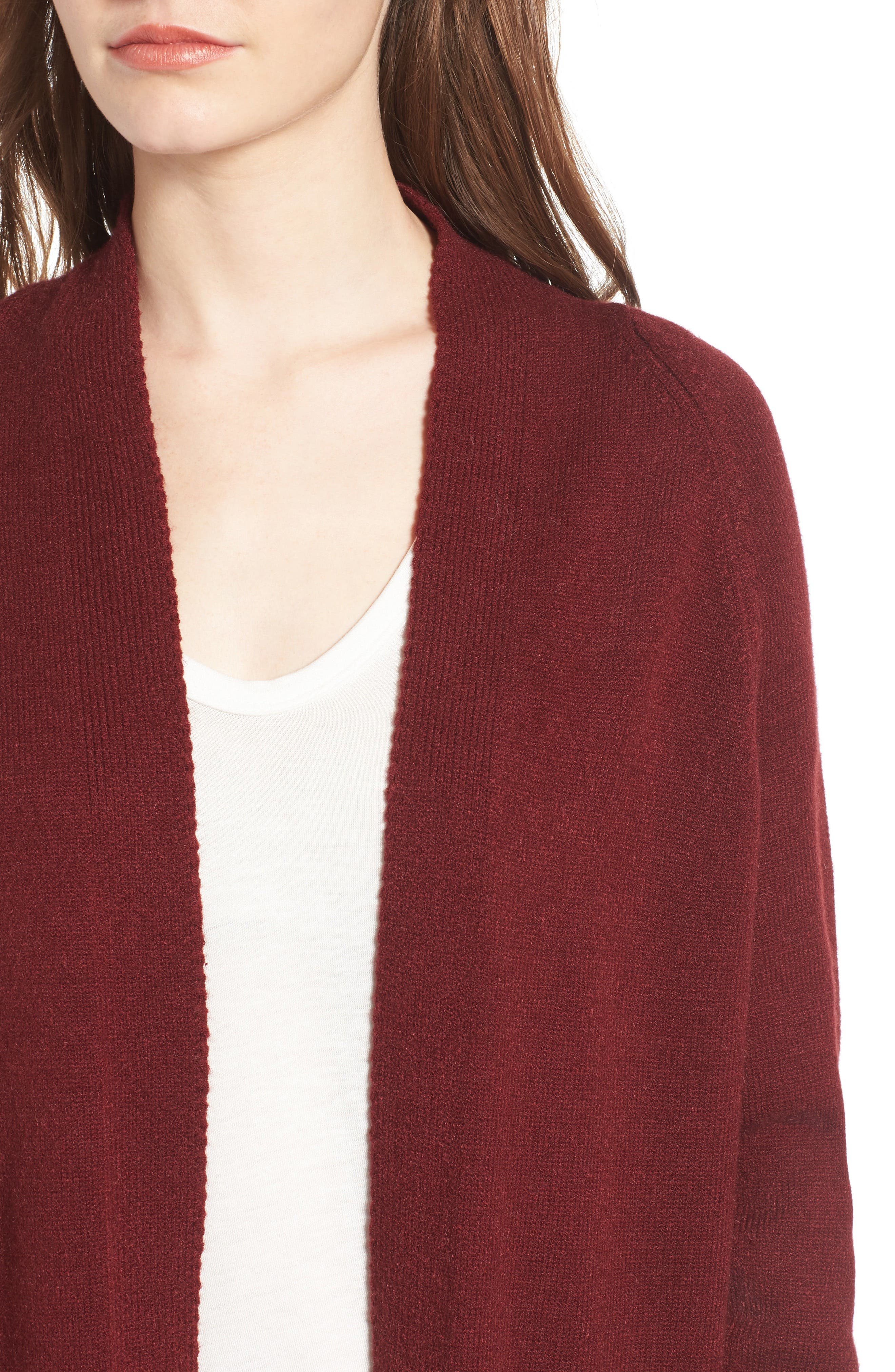 Alternate Image 4  - Dreamers by Debut Cozy Open Cardigan