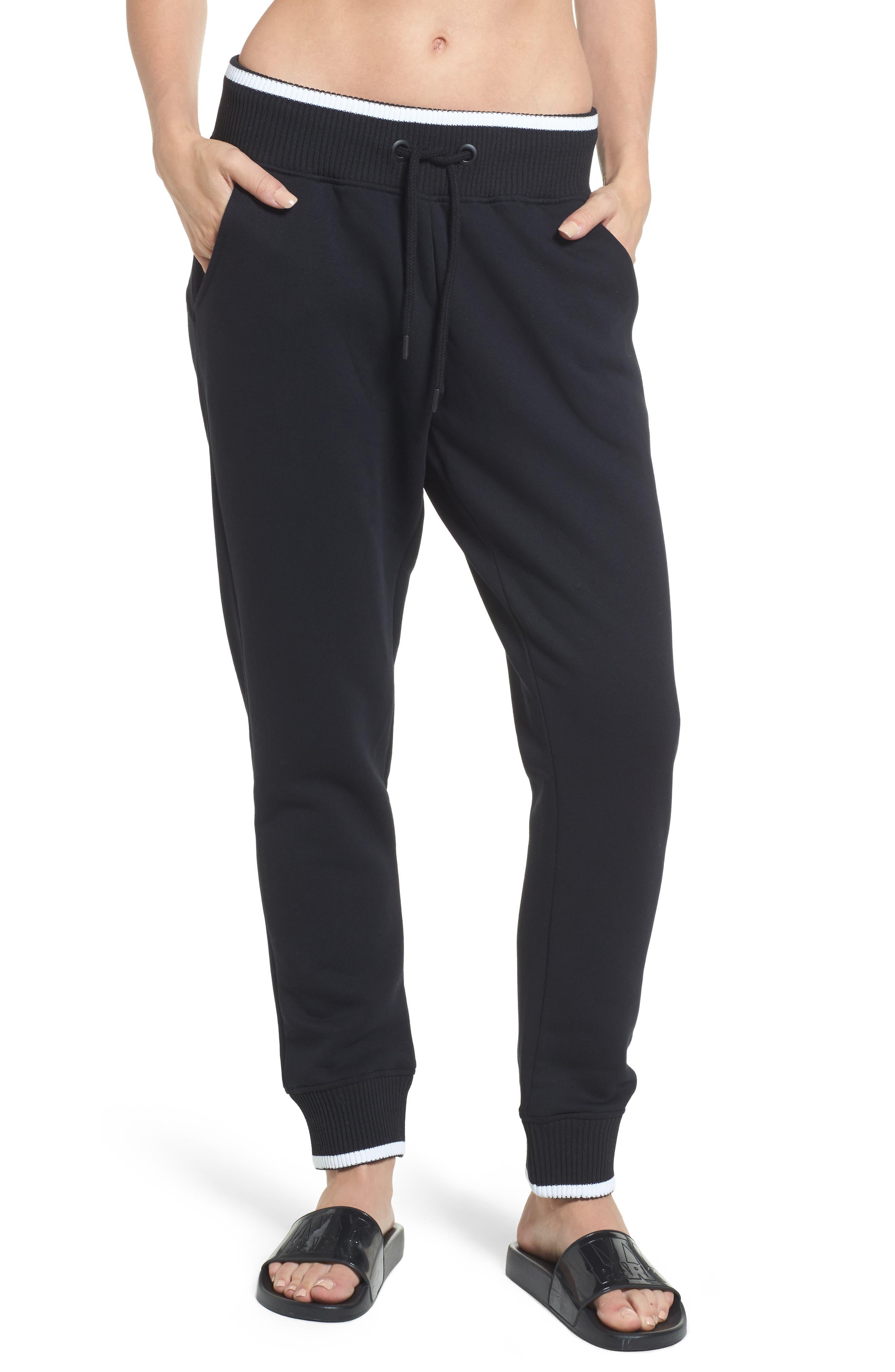 Logo Back Jogger Pants,                         Main,                         color, Black