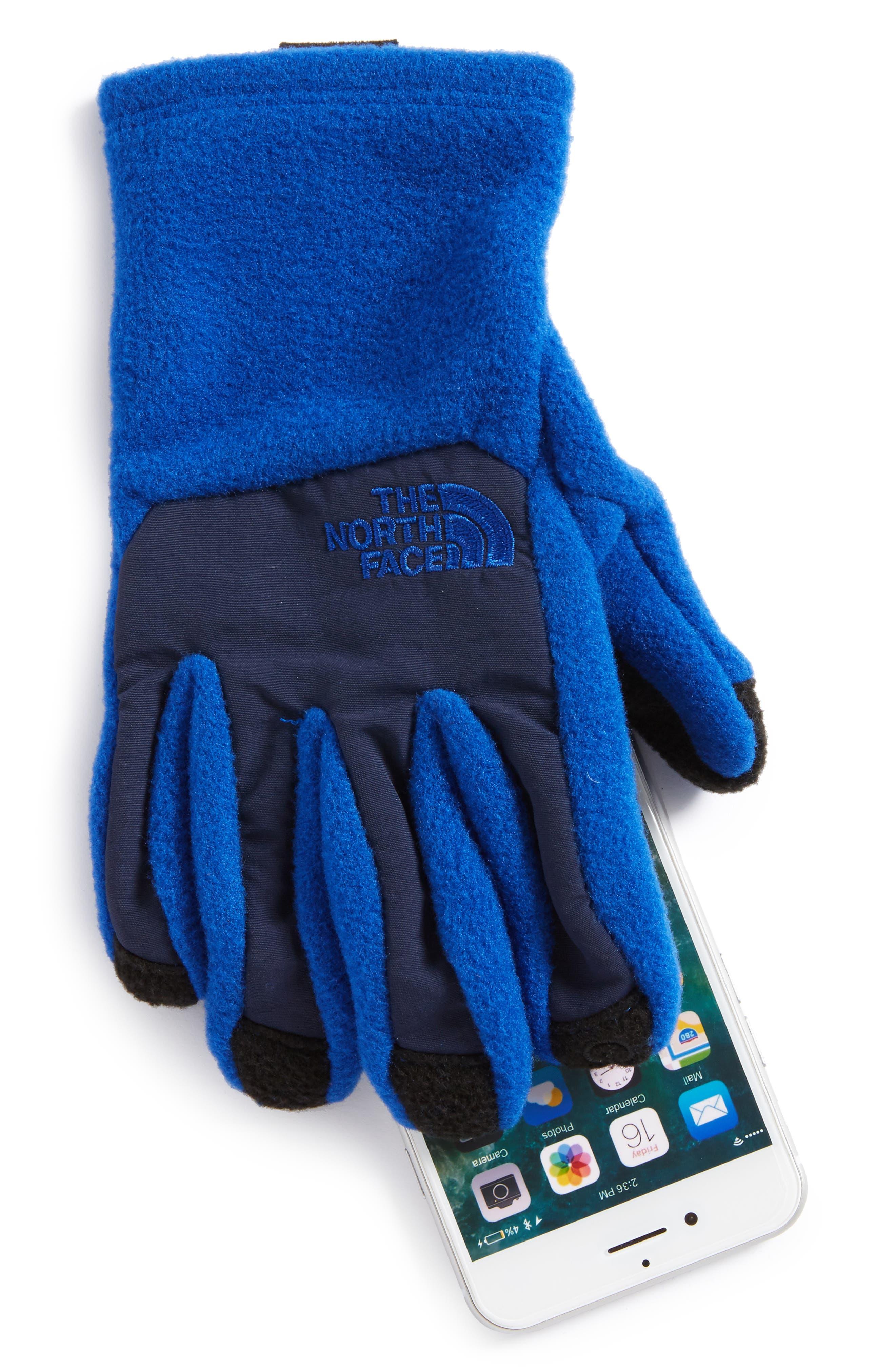 Alternate Image 2  - The North Face Denali Etip Gloves (Kids)