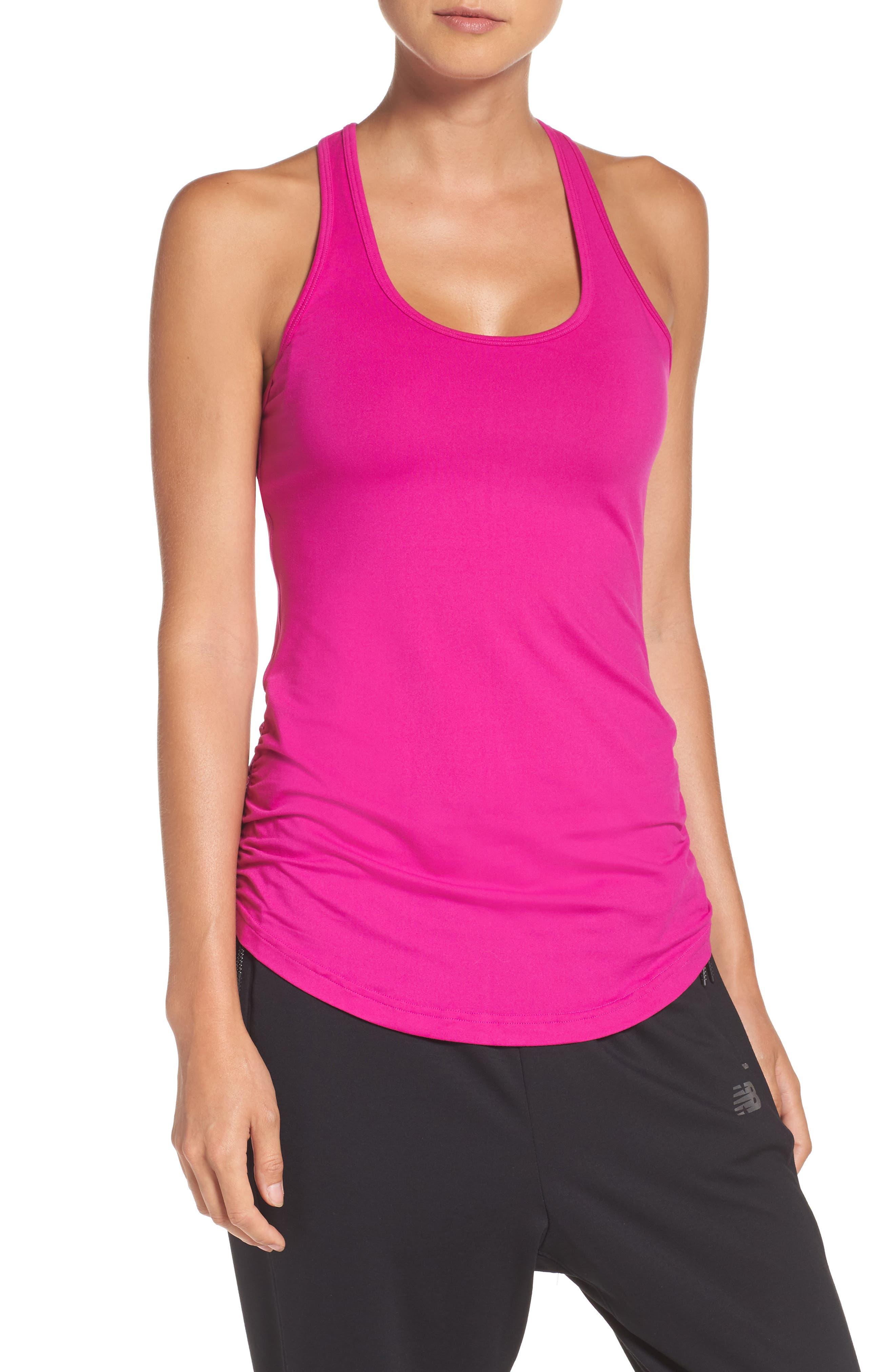 Main Image - New Balance 'Perfect' Cutout Racerback Tank