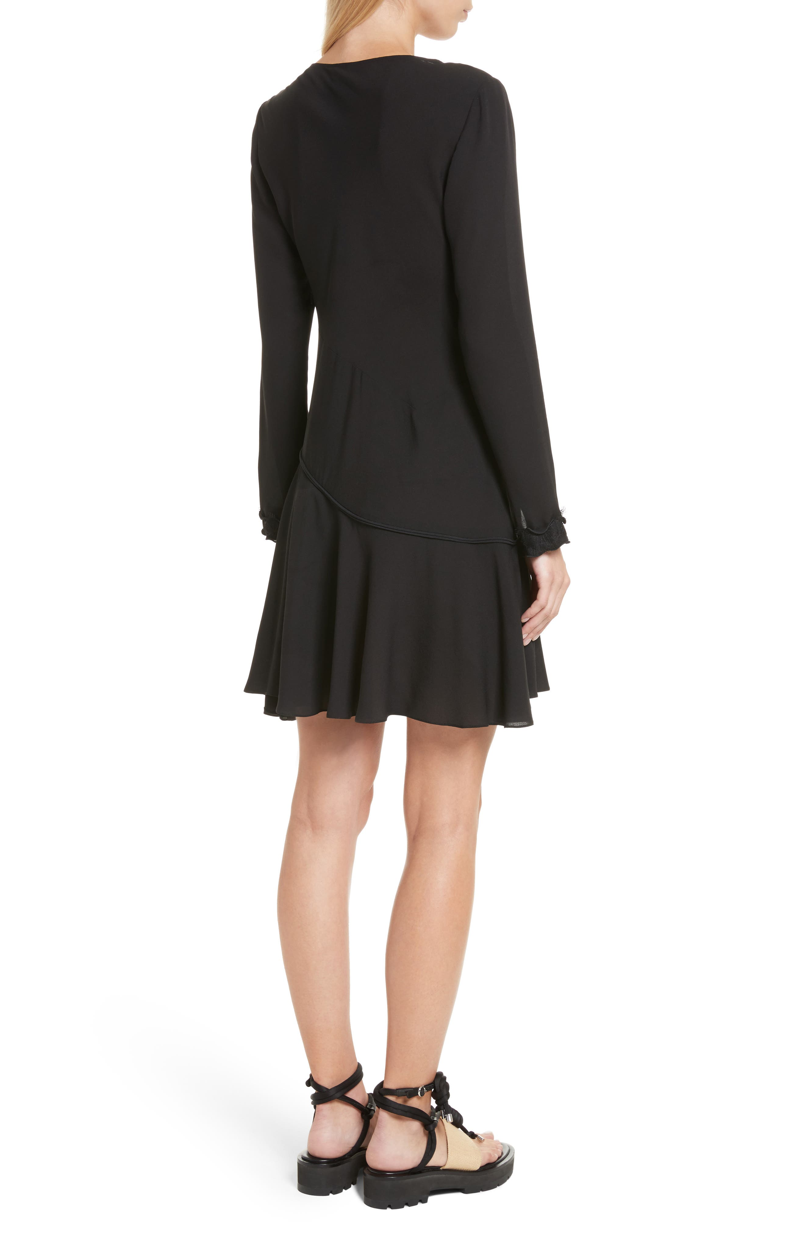 Alternate Image 2  - 3.1 Phillip Lim Ruffle Edge Silk Dress