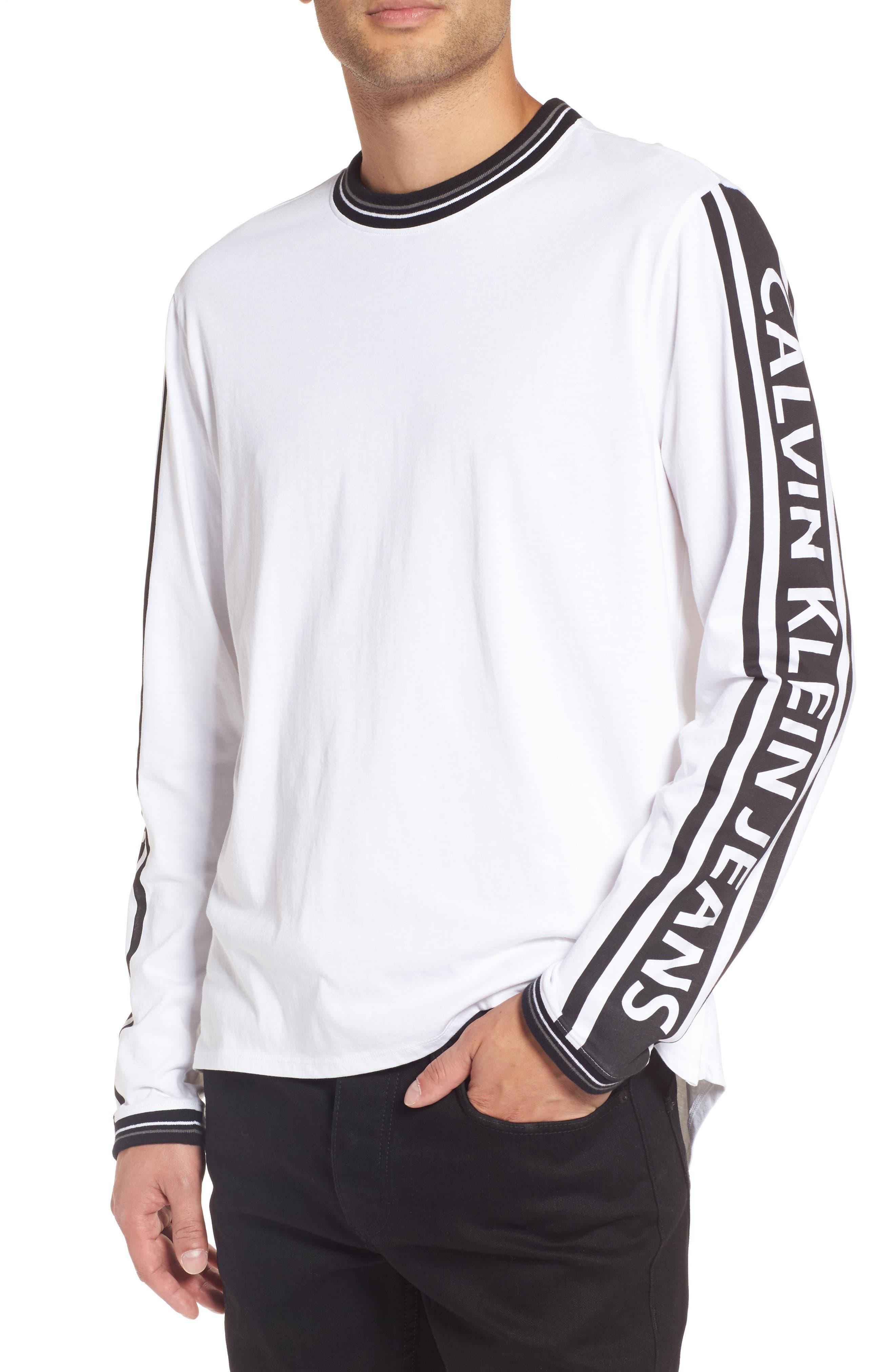 Alternate Image 1 Selected - Calvin Klein Sport Logo T-Shirt