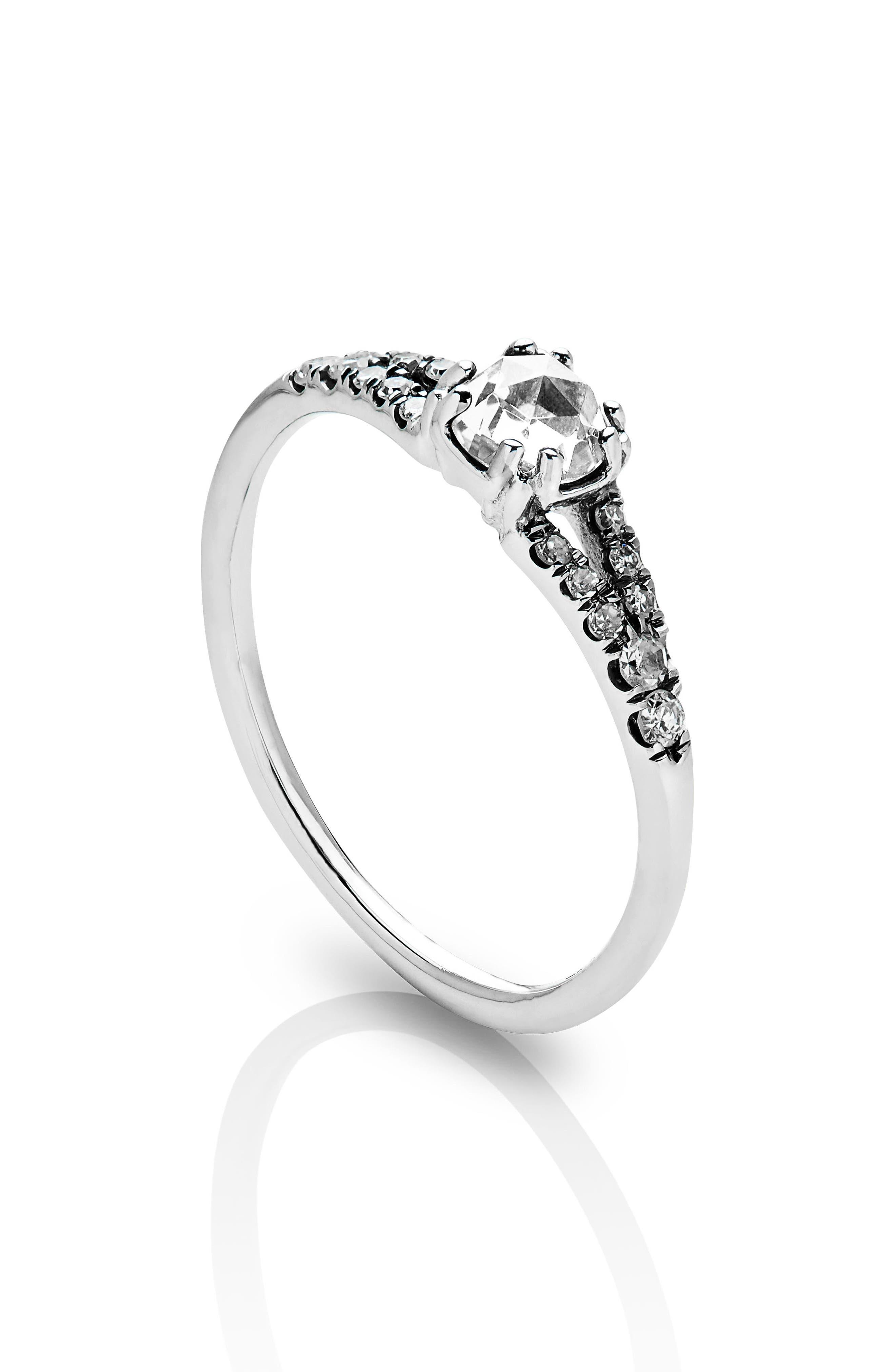 Alternate Image 4  - Maniamania Devotion Solitaire Diamond Ring