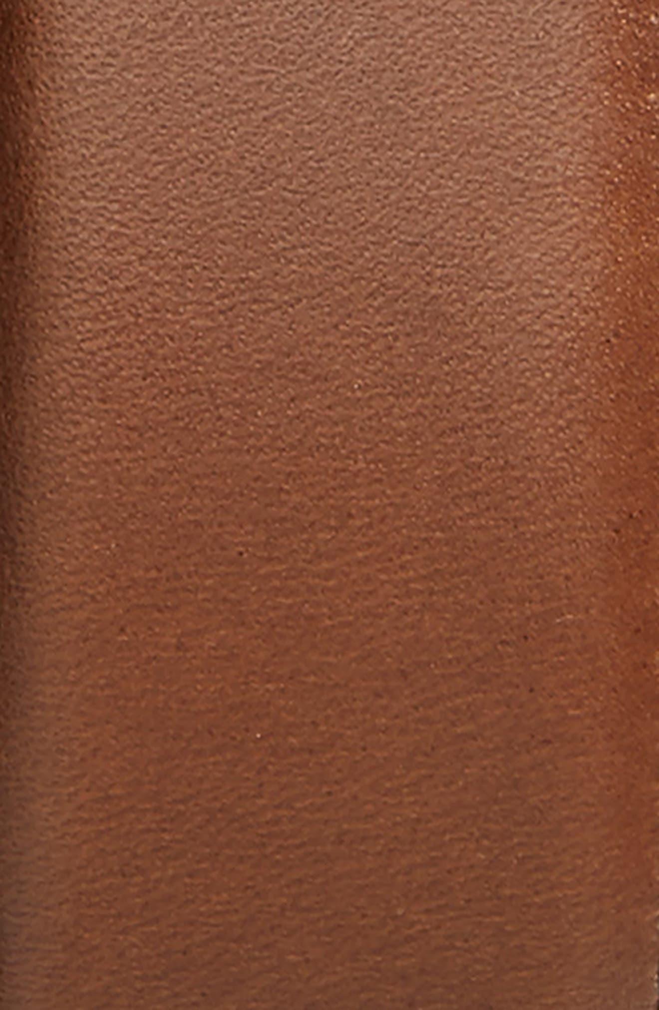 Parker Leather Belt,                             Alternate thumbnail 2, color,                             Brown Chestnut