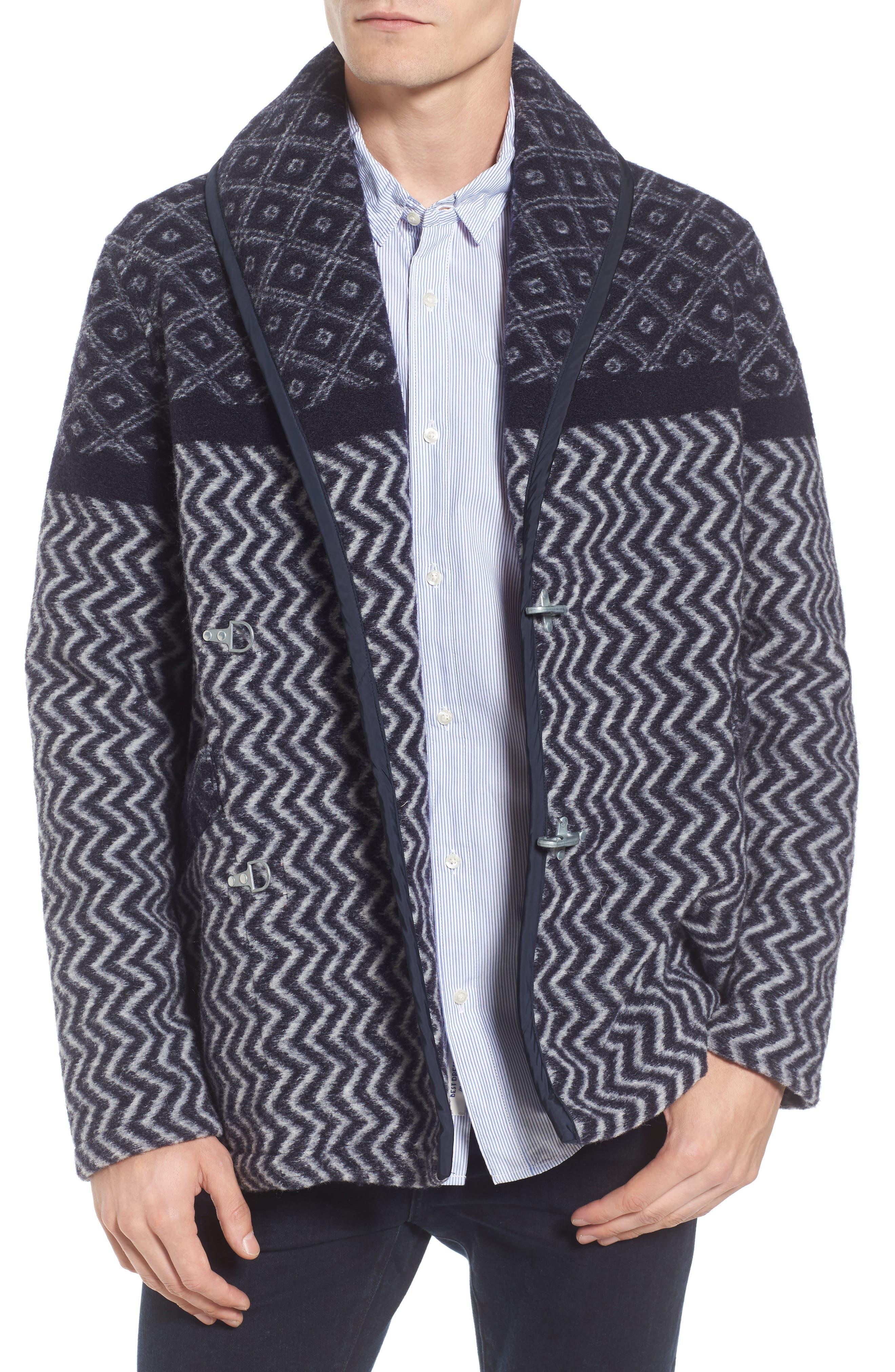 Blanket Jacket,                             Main thumbnail 1, color,                             Blue
