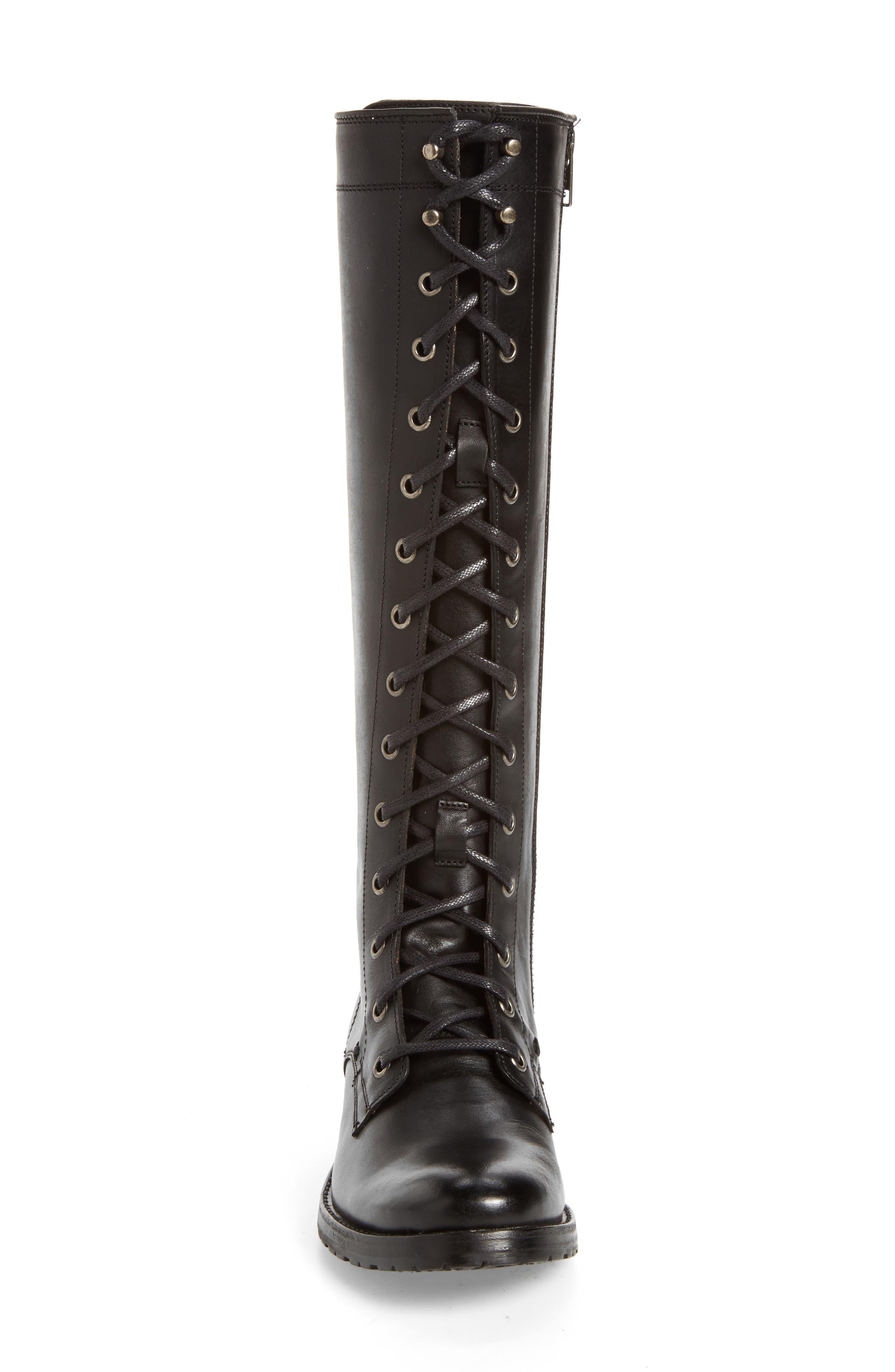 Alternate Image 4  - Frye Melissa Tall Lace-Up Boot (Women)
