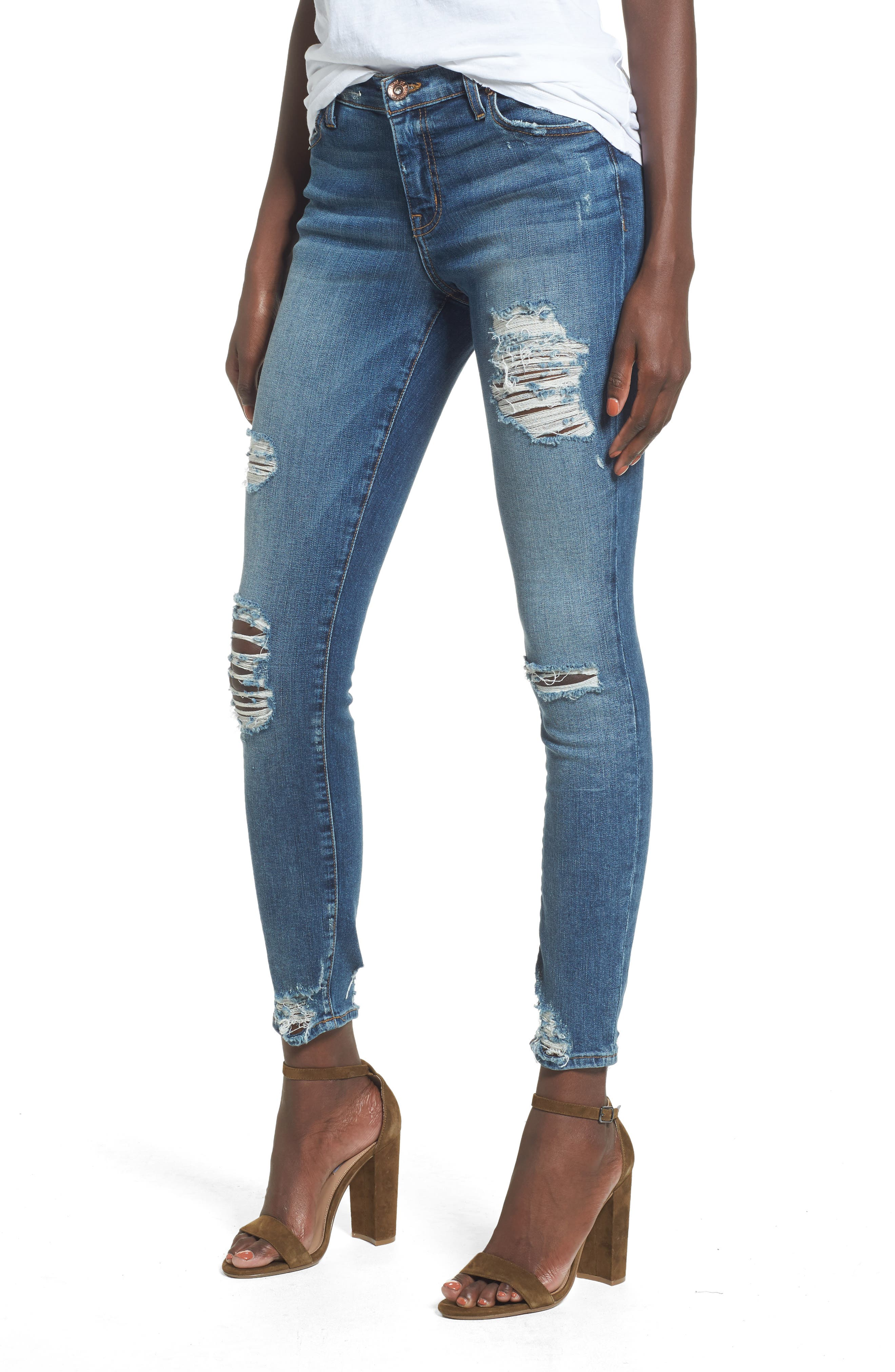 Band of Gypsies Lola Skinny Jeans (Desert Stage)
