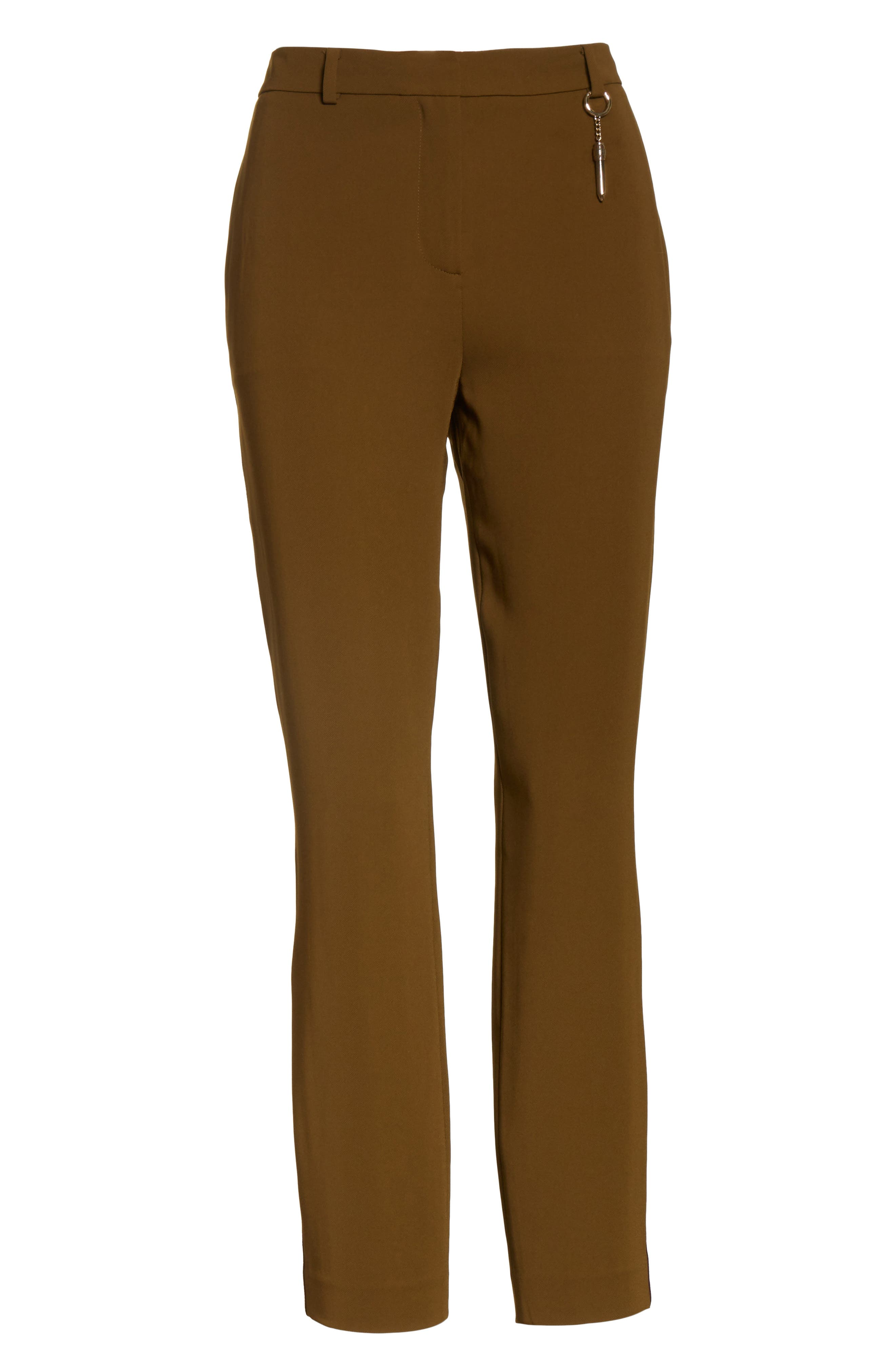 Alternate Image 6  - Ted Baker London Baya Stripe Ankle Trousers