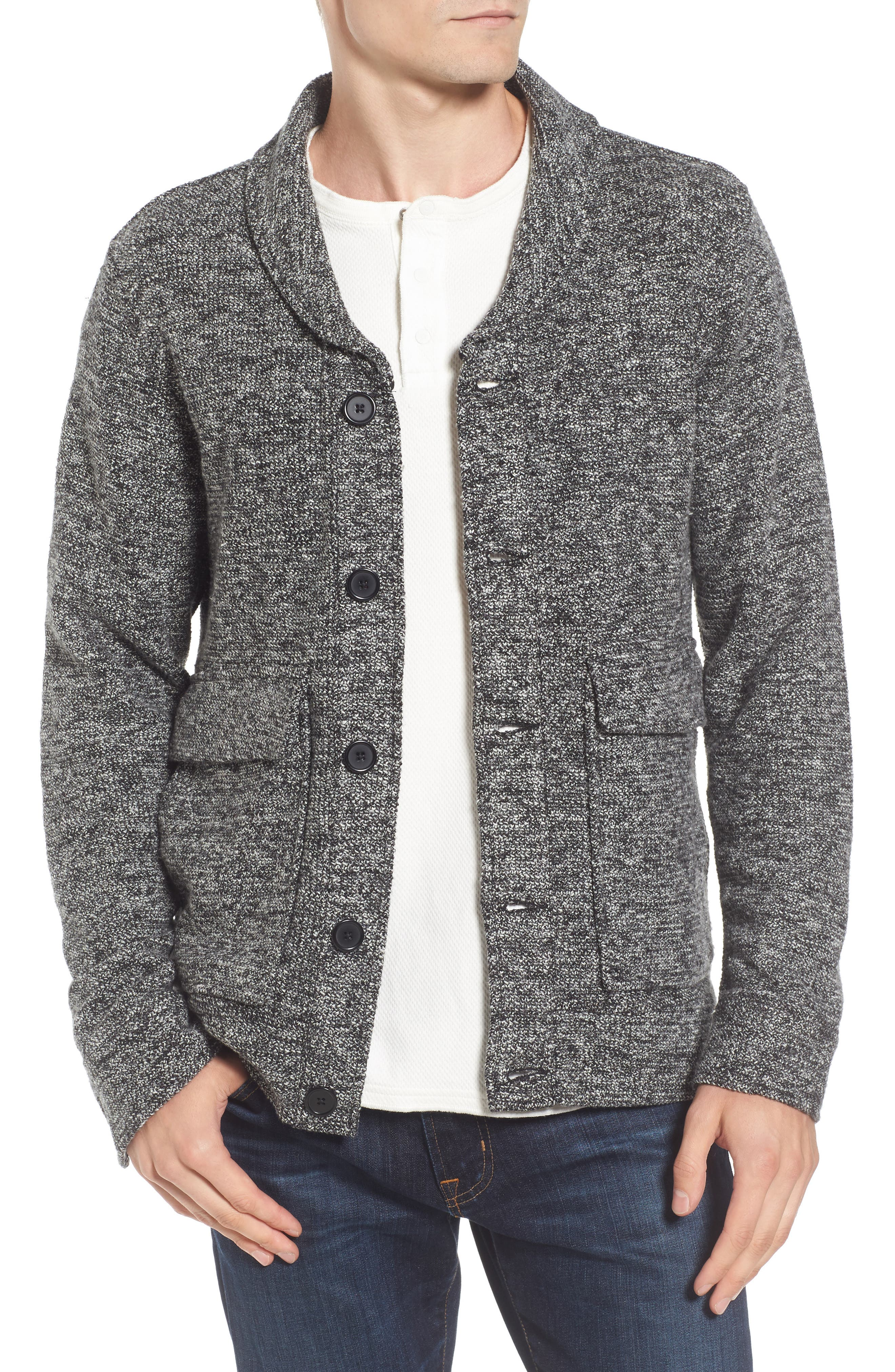 Tunellus Shawl Neck Cardigan