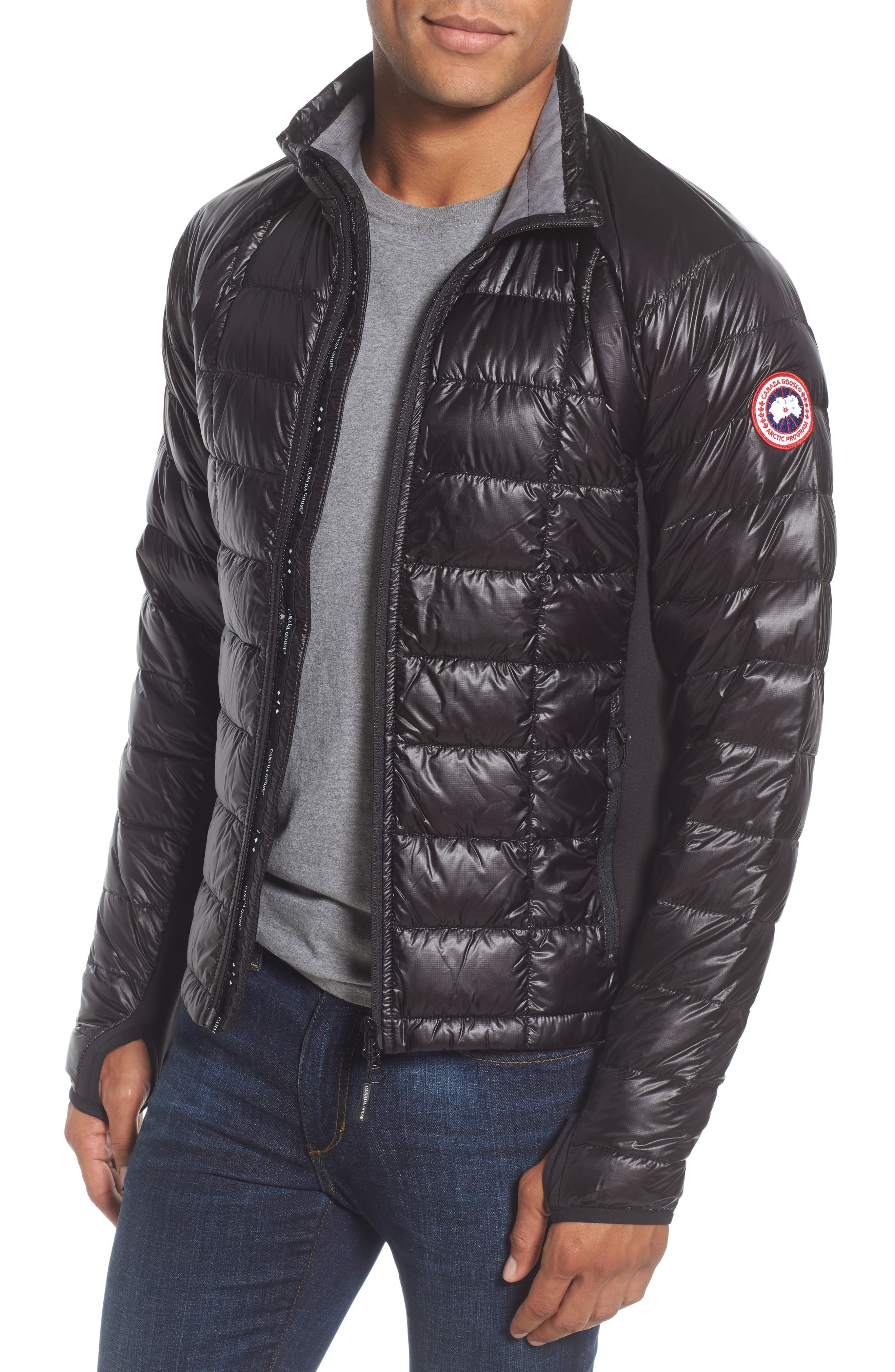 detachable jacket moose quilt mens hood fox puffa fur black quilted zoom knuckles