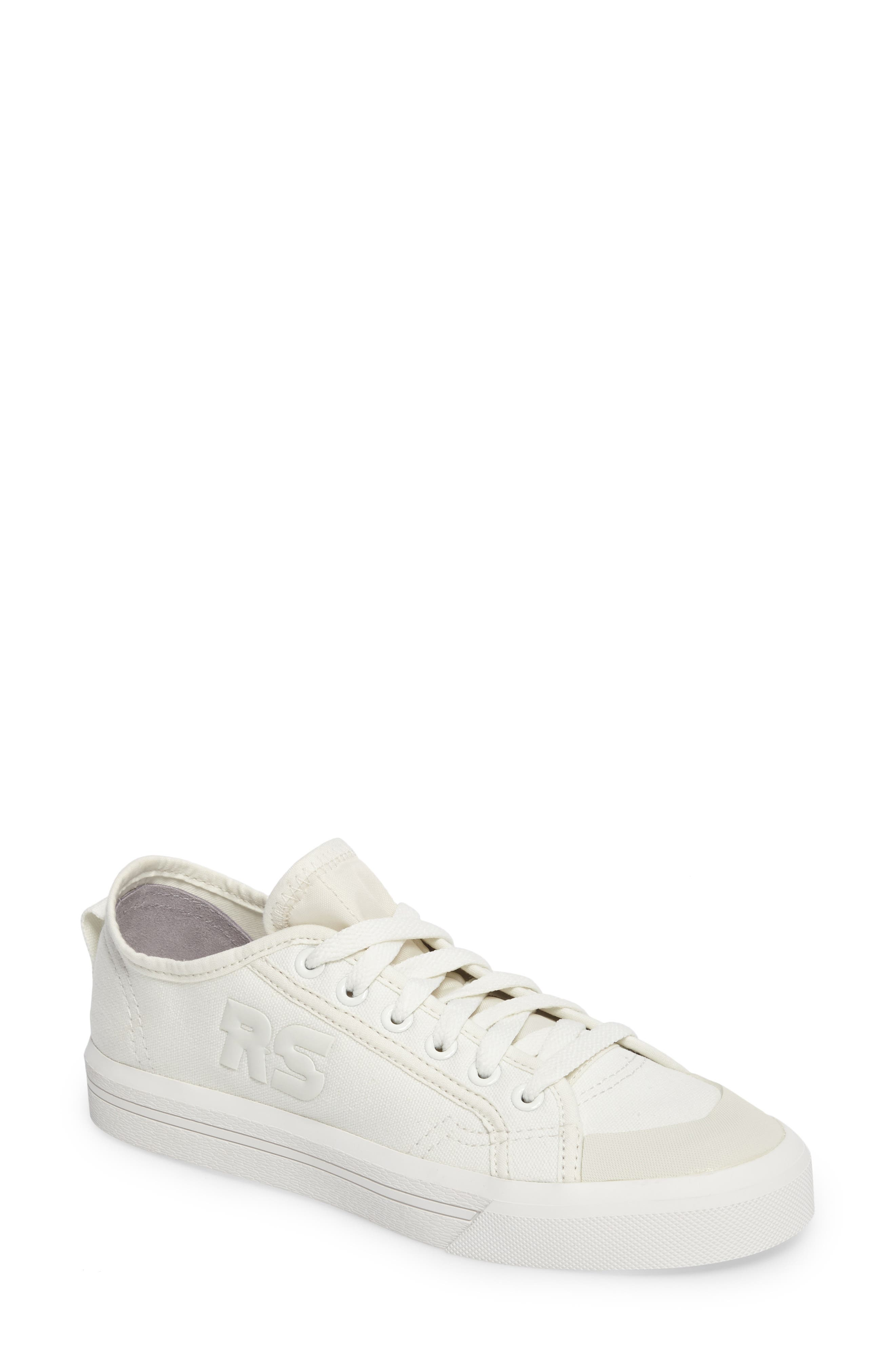 adidas by Raf Simons Spirit Low Top Sneaker,                         Main,                         color, Optic White