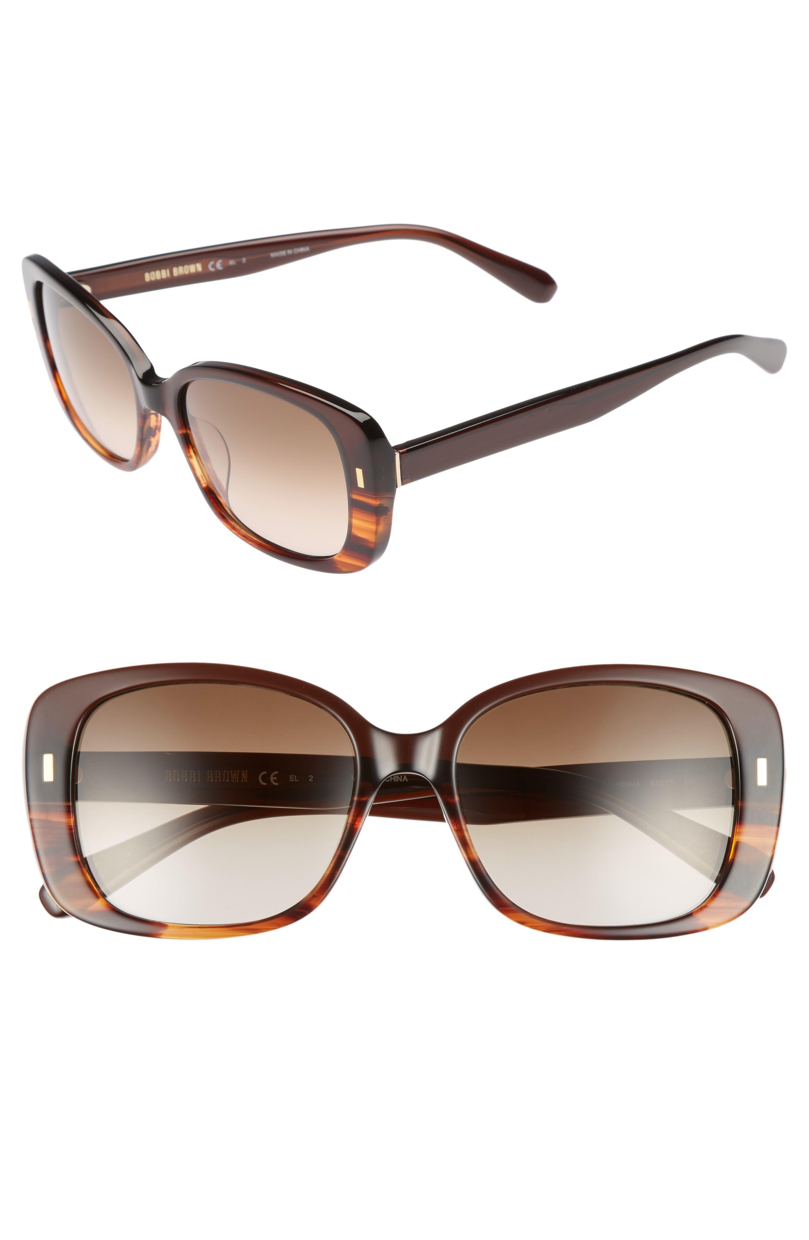 Main Image - Bobbi Brown The Audrey 53mm Square Sunglasses