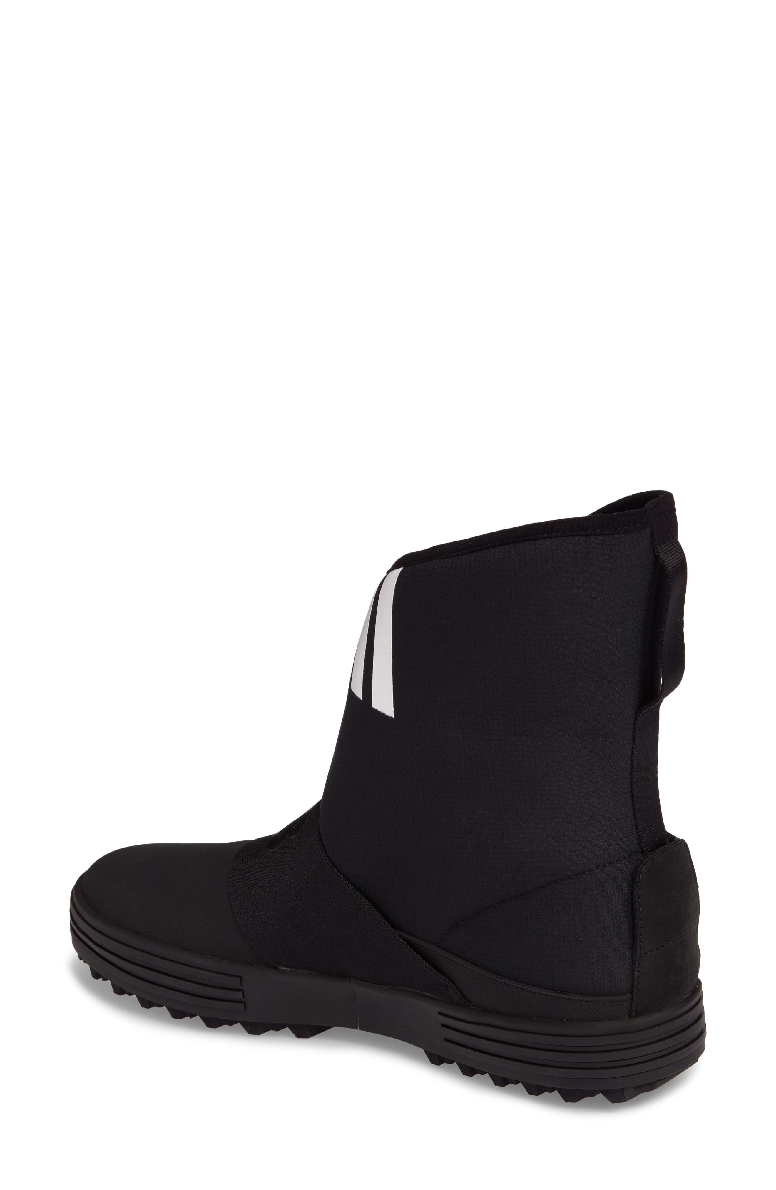 Sno Foxing High Top Sneaker,                             Alternate thumbnail 2, color,                             Core Black / White