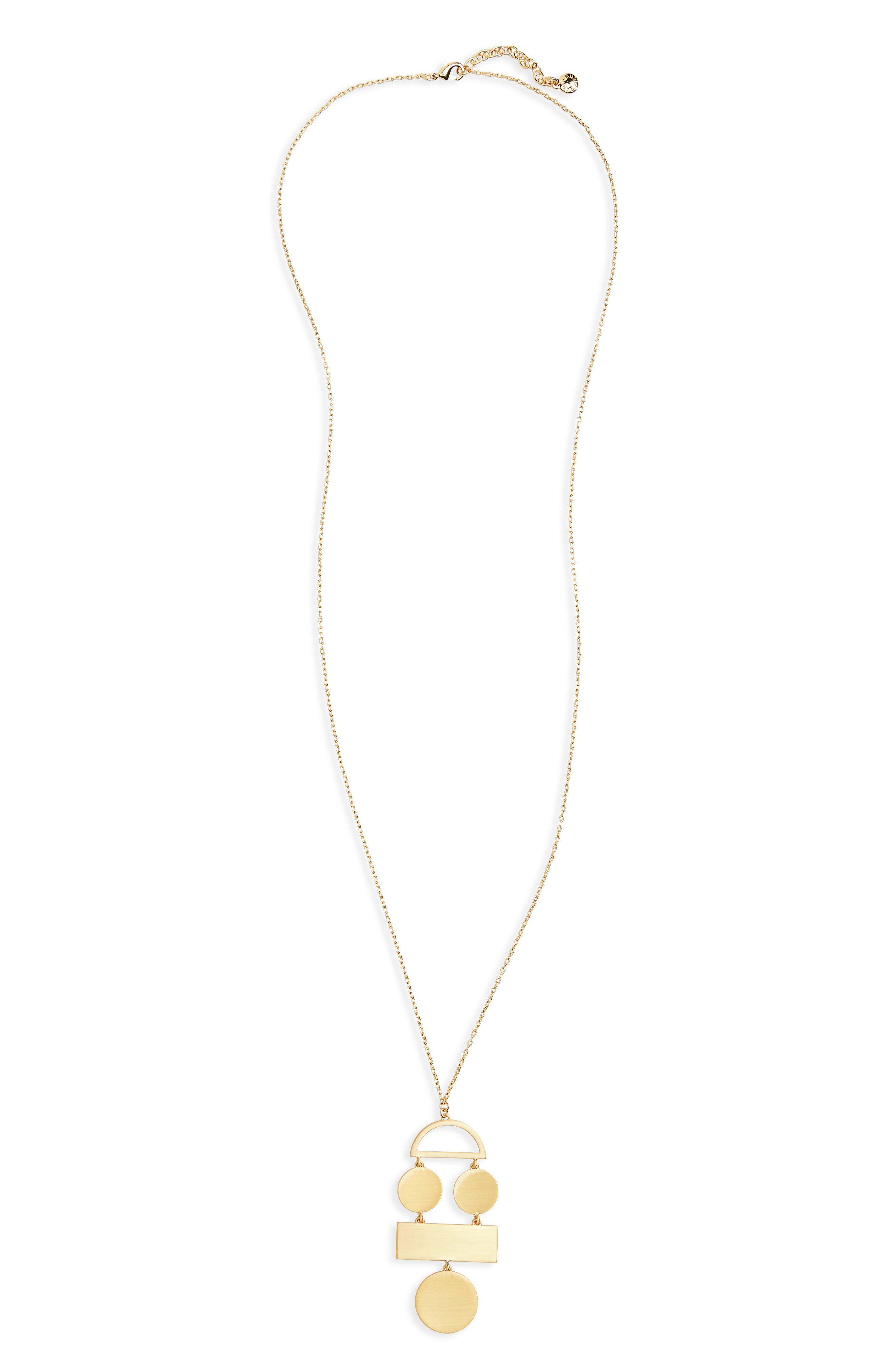 BaubleBar Picasso Pendant Necklace