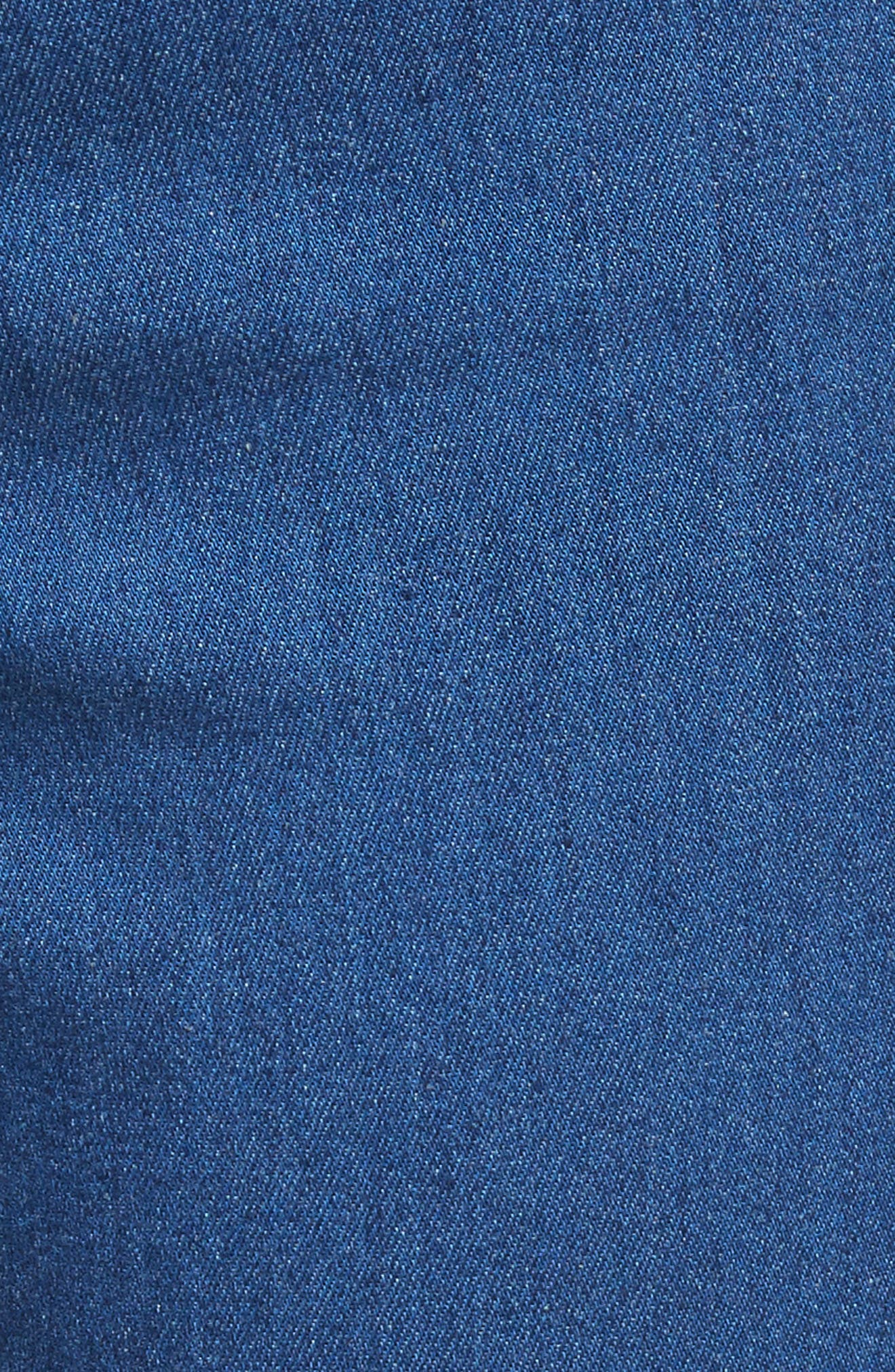Kayleigh Bell Jeans,                             Alternate thumbnail 5, color,                             French Blue Multi