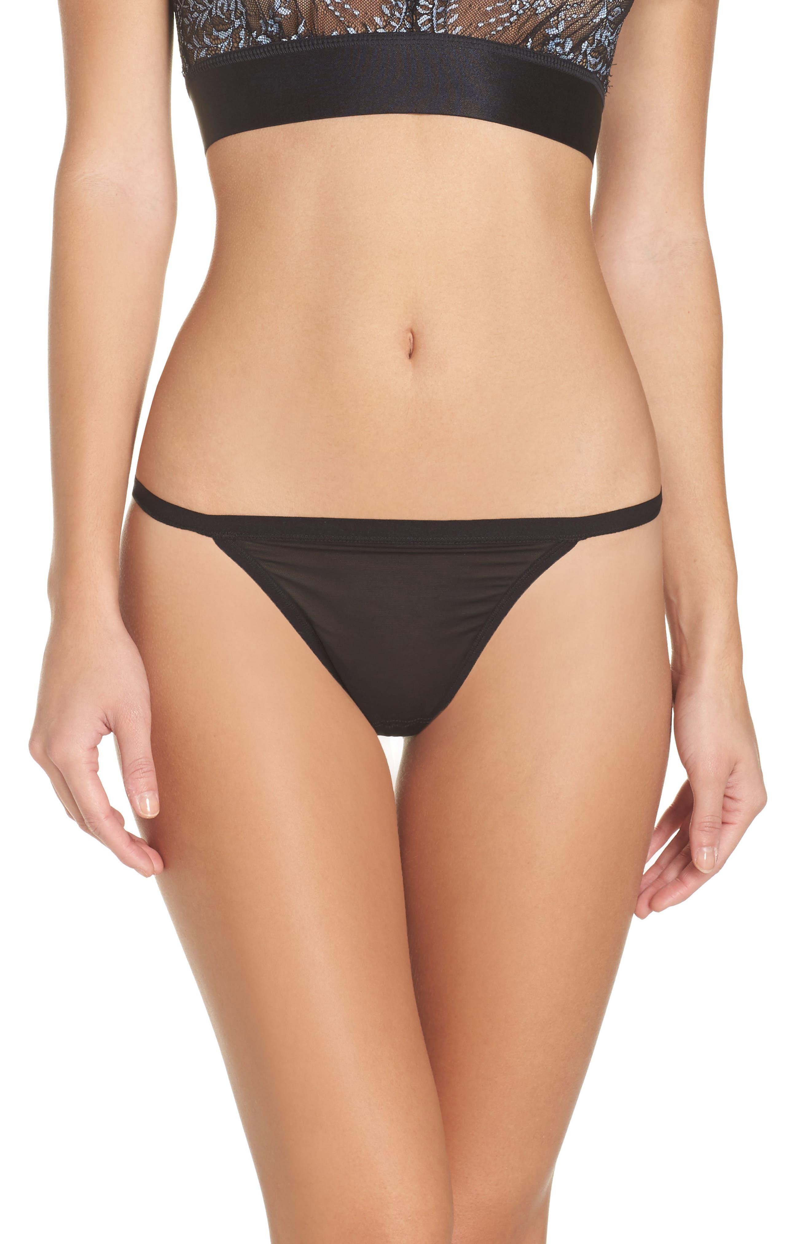 Lavinia Bikini,                             Main thumbnail 1, color,                             Black/ Blue