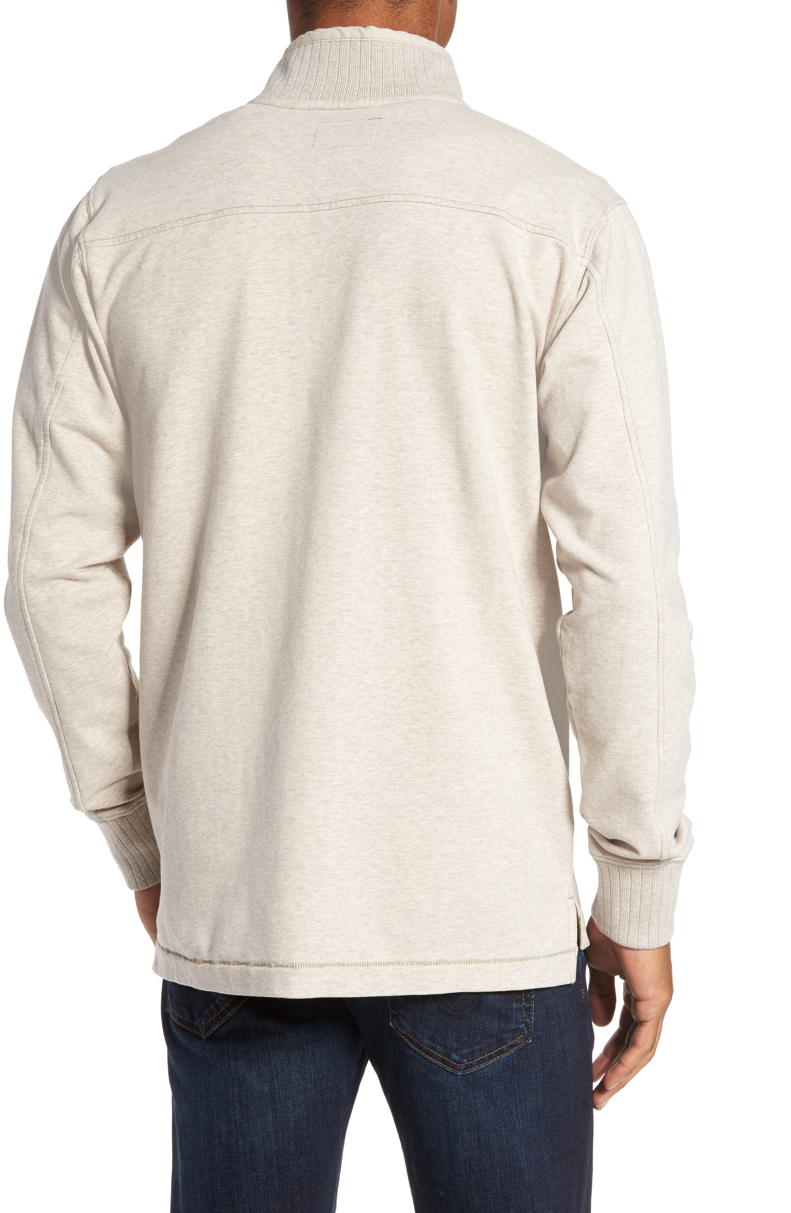 Alternate Image 2  - Jeremiah Taylor Quarter Button Pullover