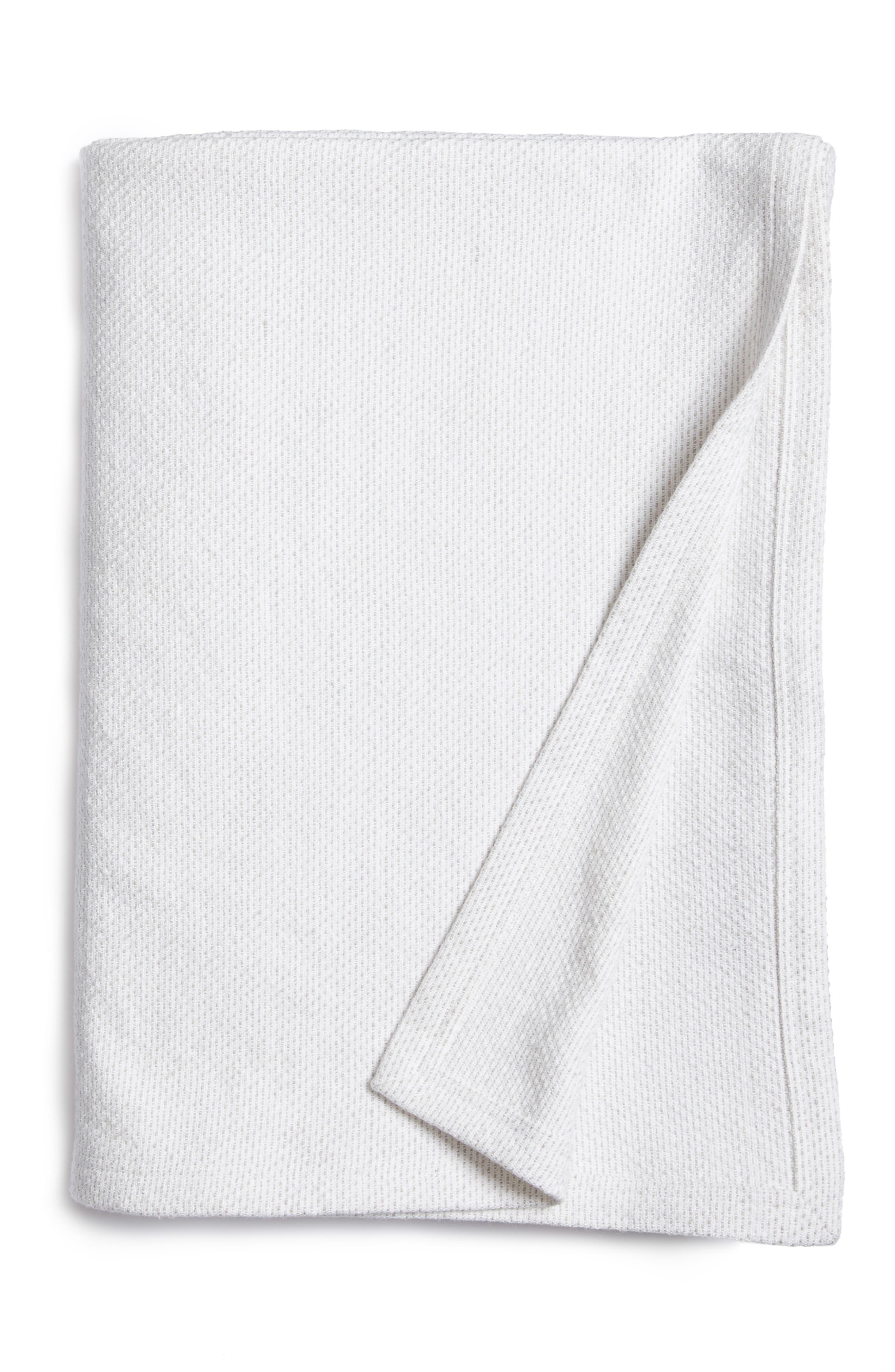 Calvin Klein Arctic Blanket,                         Main,                         color, Shale