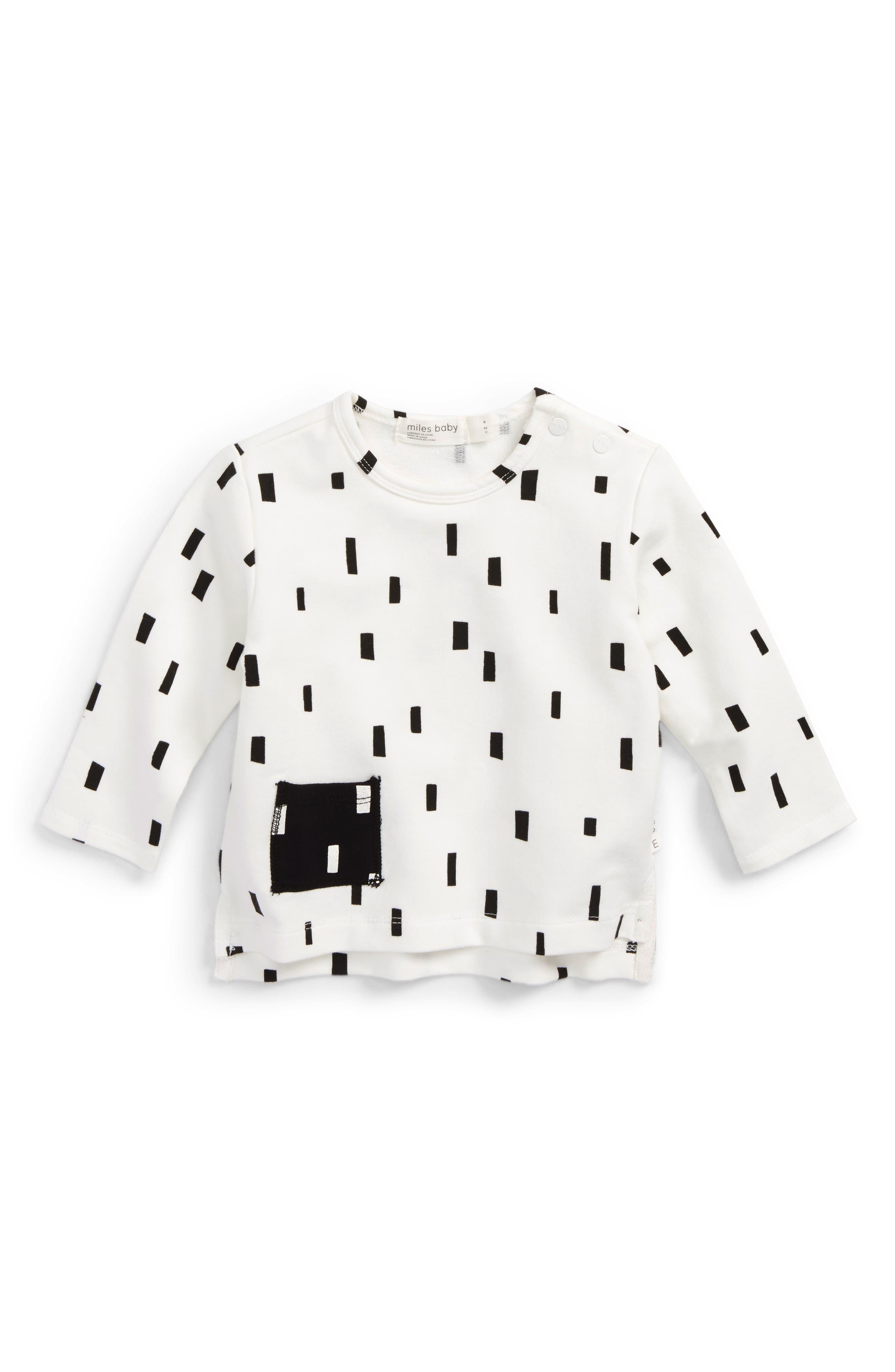 Miles Baby Pocket T-Shirt (Baby)