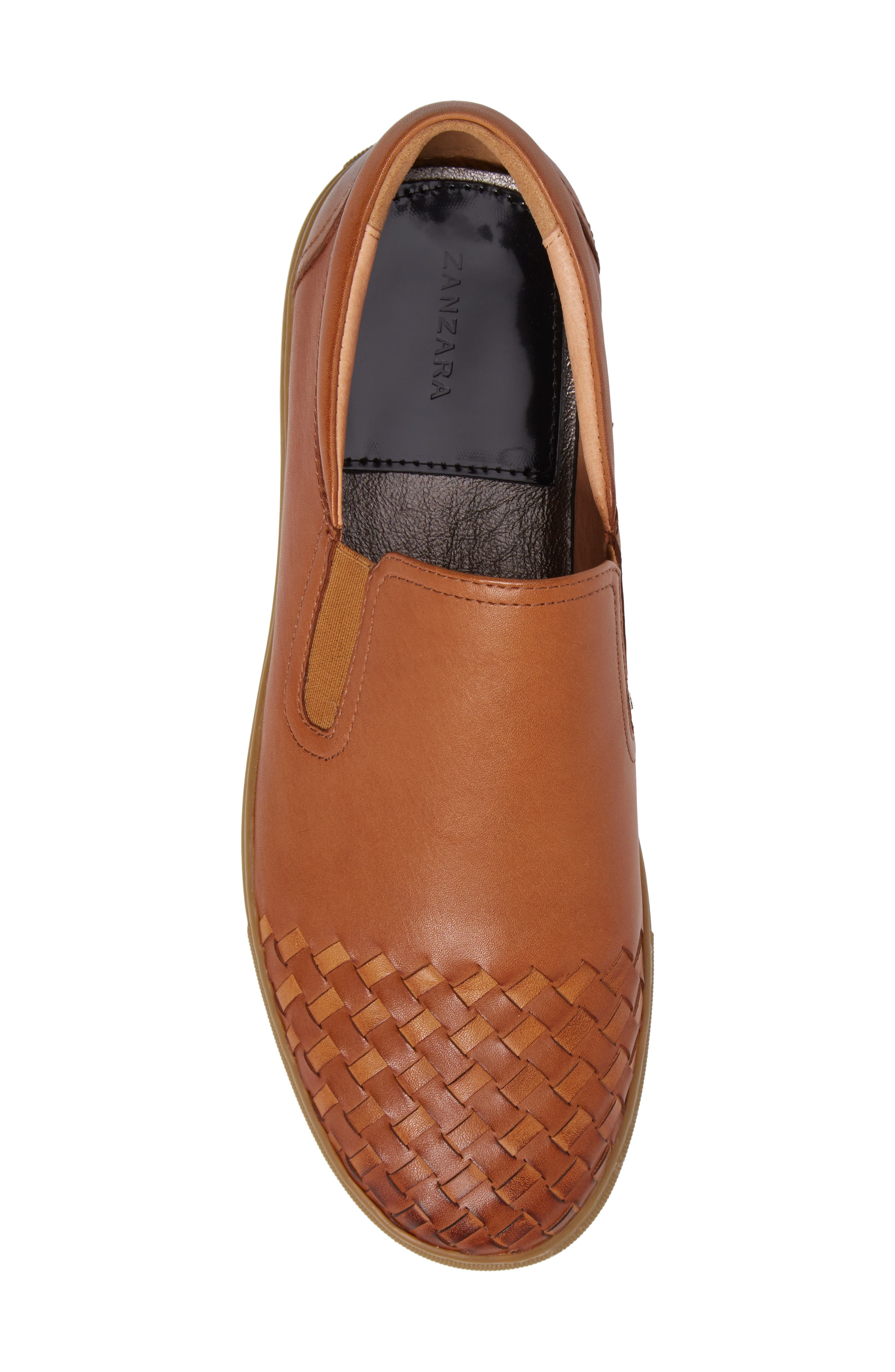 Ader Slip-On,                             Alternate thumbnail 5, color,                             Cognac Leather
