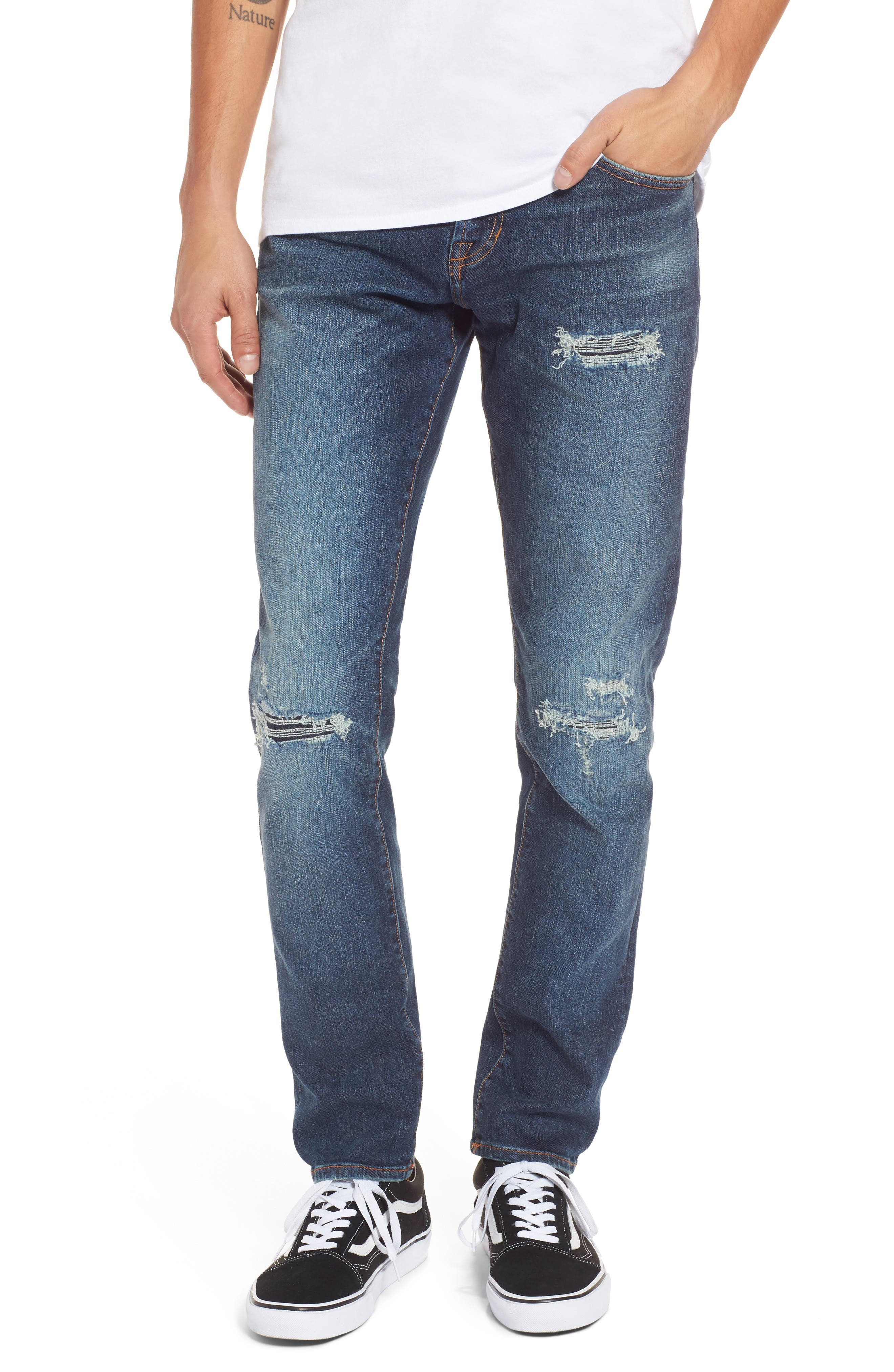 Jean Shop Kip Skinny Fit Jeans (Stretch Brewster)