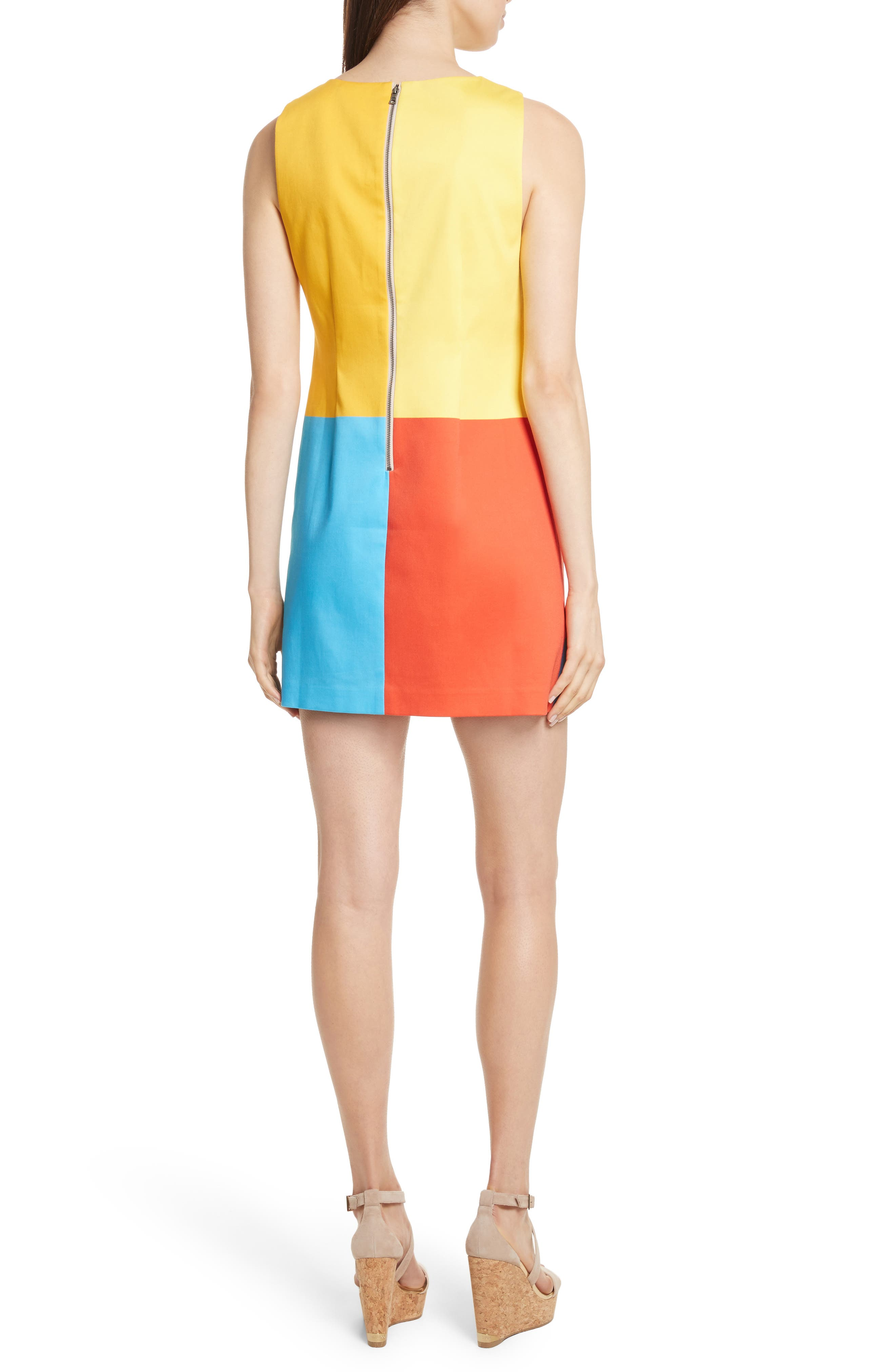 Alternate Image 2  - Alice + Olivia AO x The Beatles Clyde A-Line Shift Dress