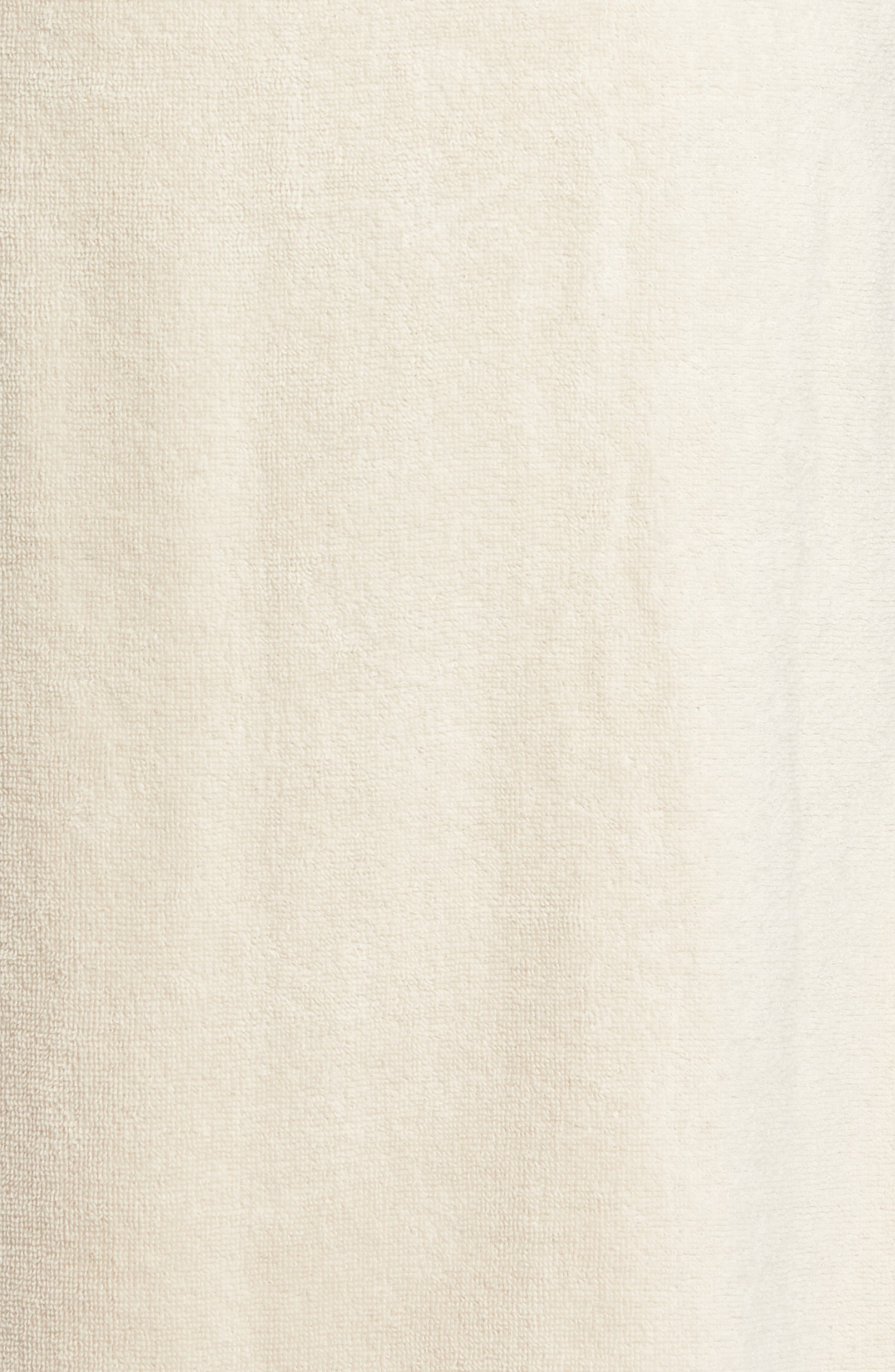 Hydro Cotton Terry Robe,                             Alternate thumbnail 5, color,                             Beige Oatmeal
