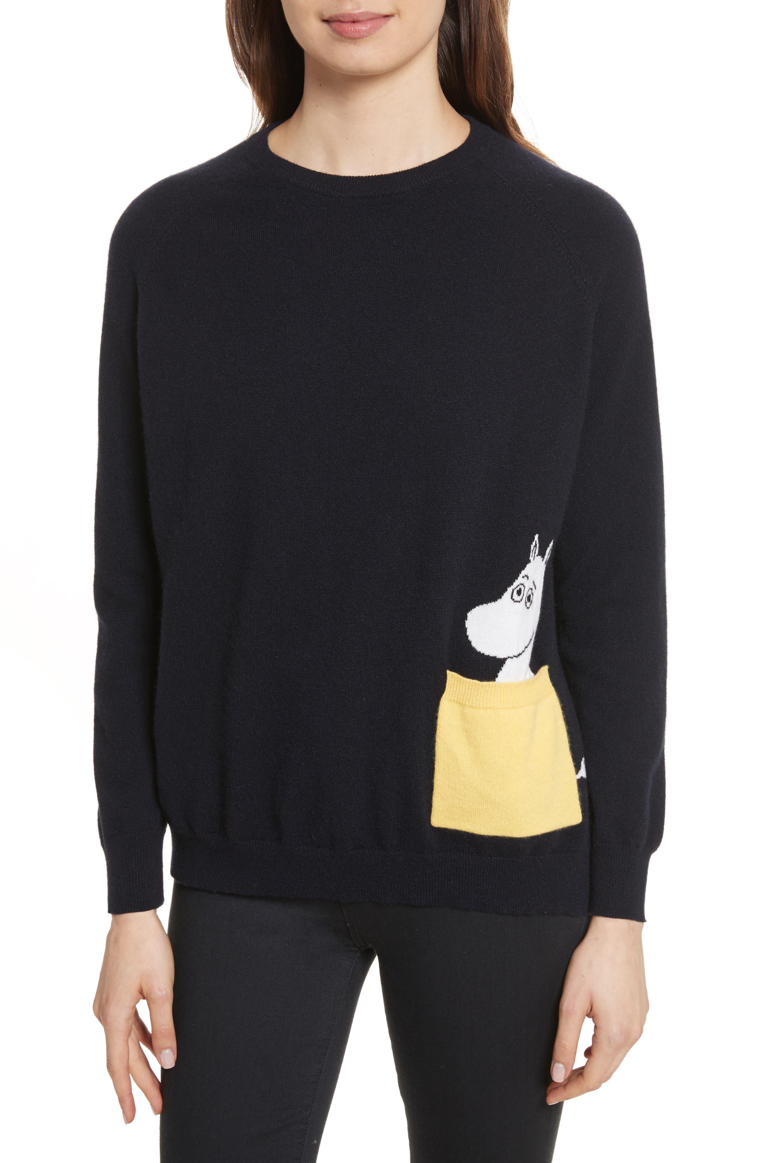 Main Image - CHINTI & PARKER Moomin Pocket Cashmere Sweater