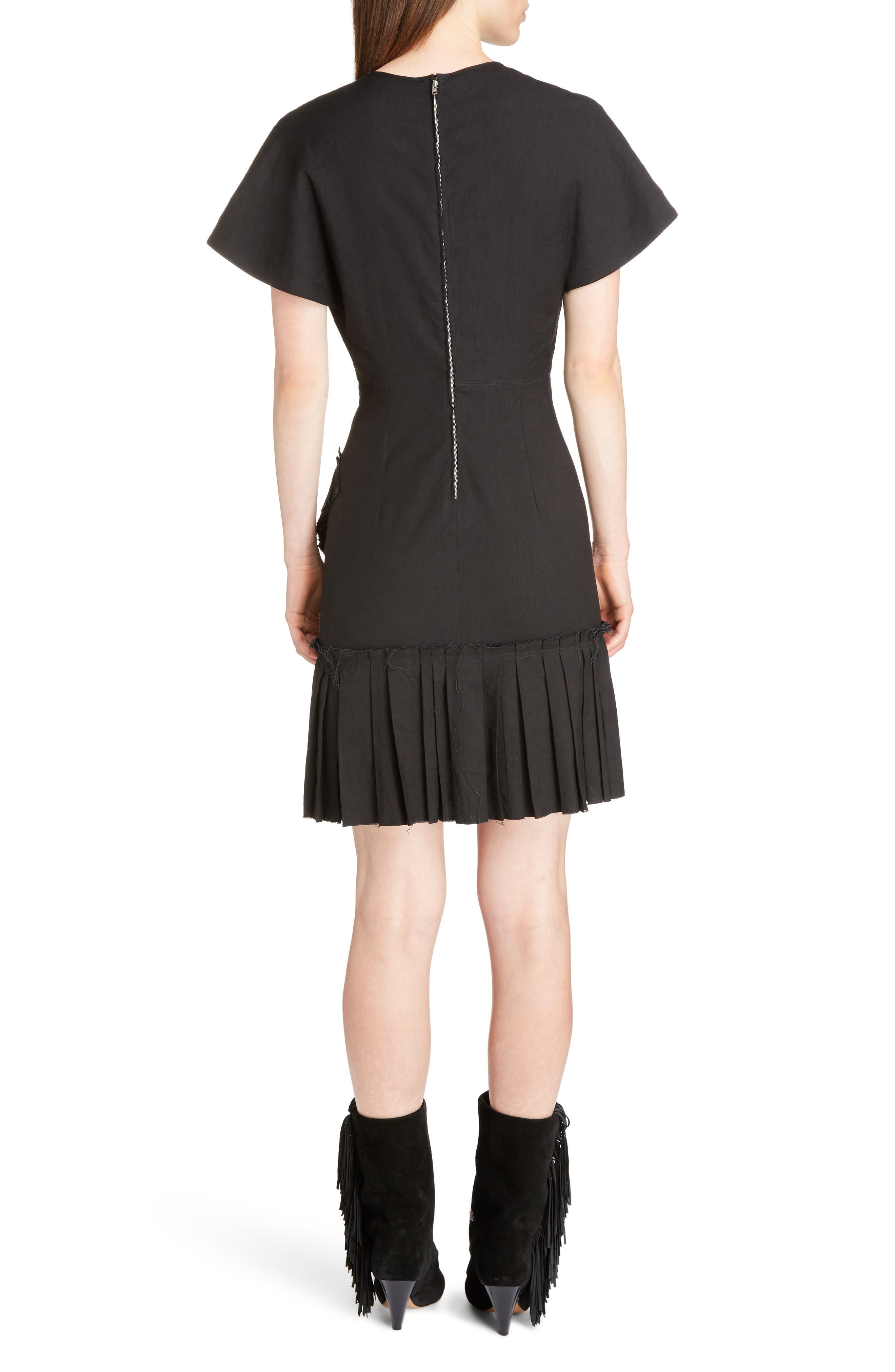 Alternate Image 2  - Isabel Marant Rimba Ruffle Hem Dress