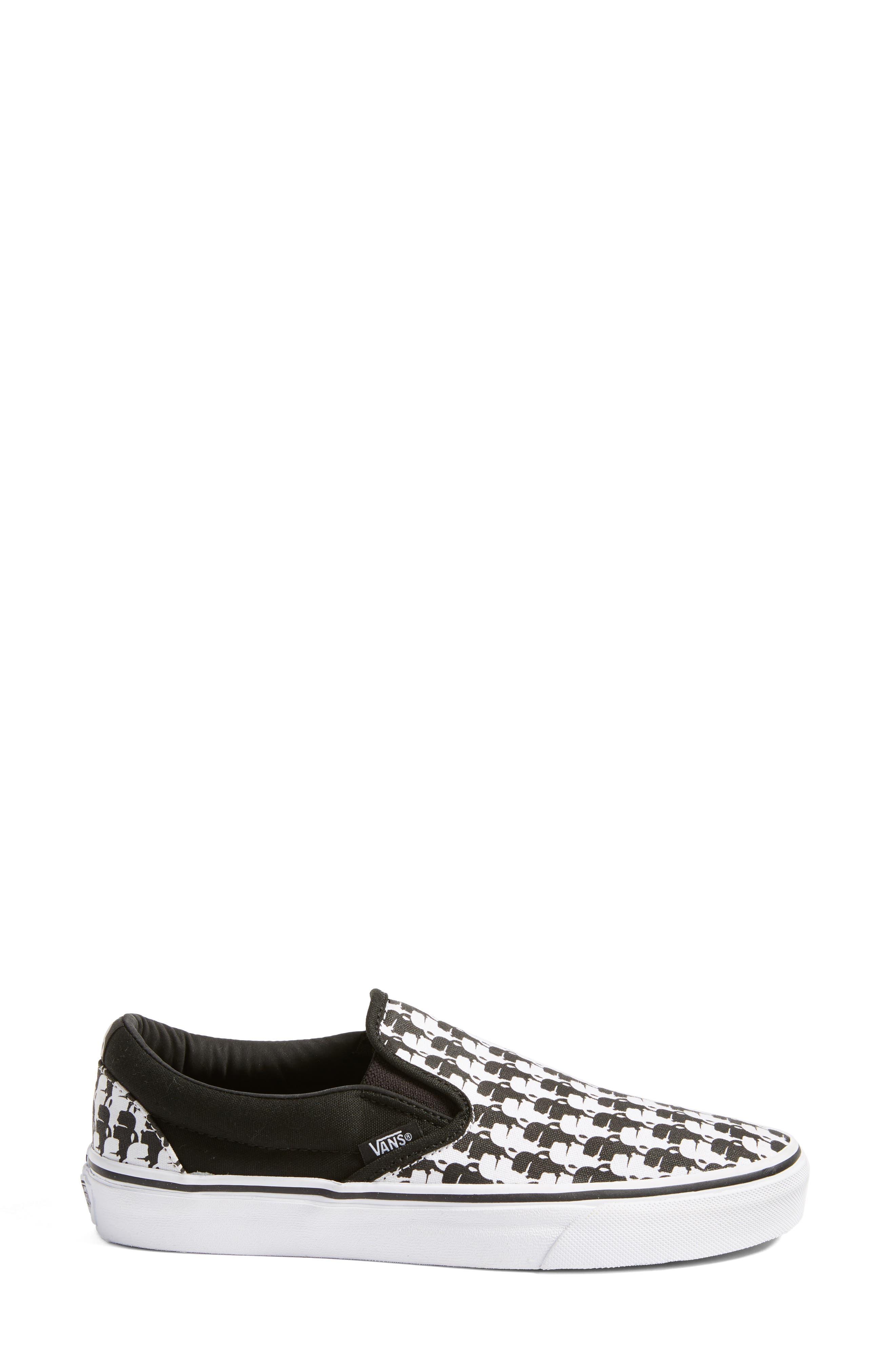 Alternate Image 3  - Vans x KARL LAGERFELD Houndstooth Slip-On Sneaker (Women)