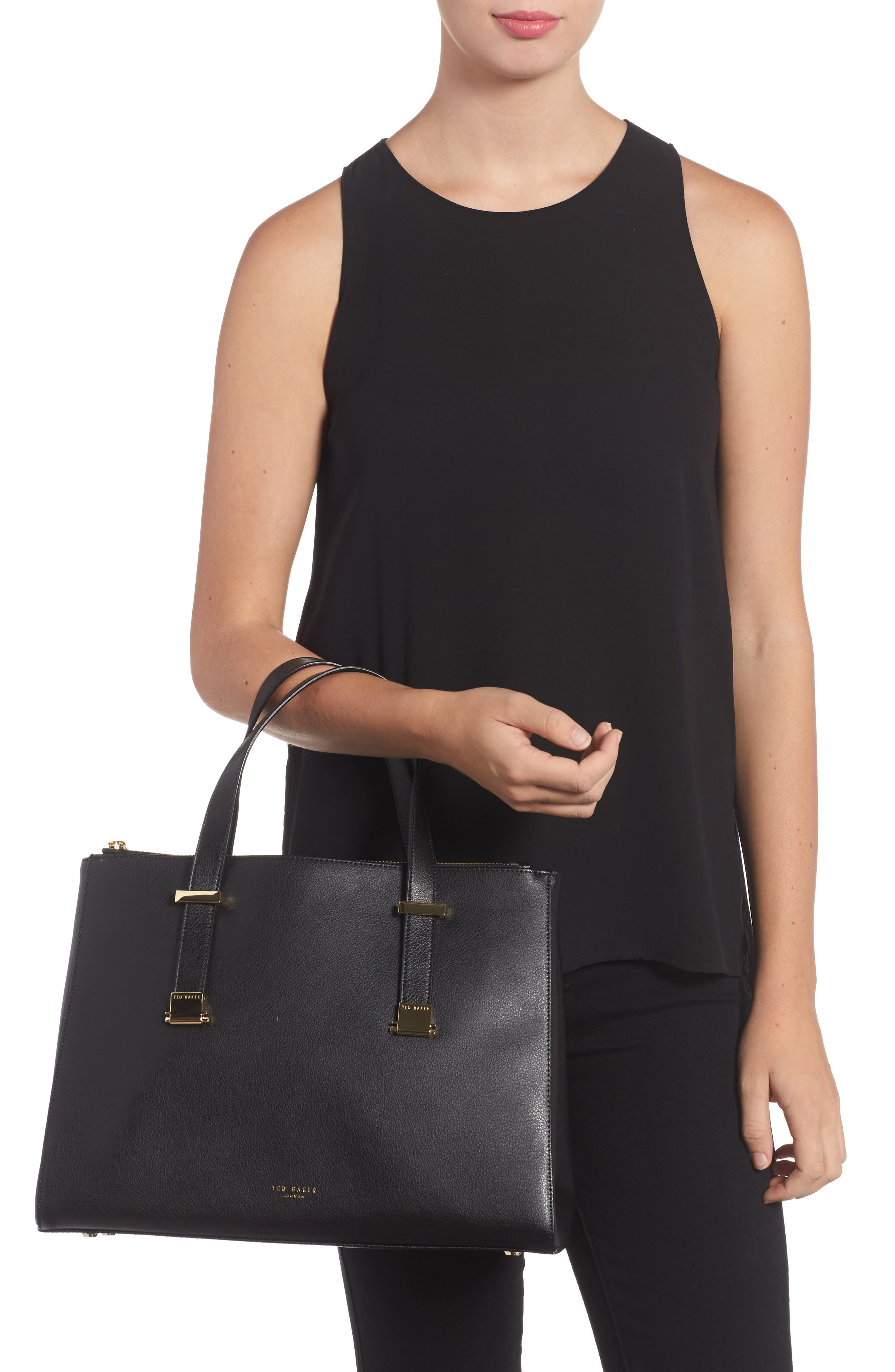 Alternate Image 2  - Ted Baker London Large Alunaa Convertible Leather Tote