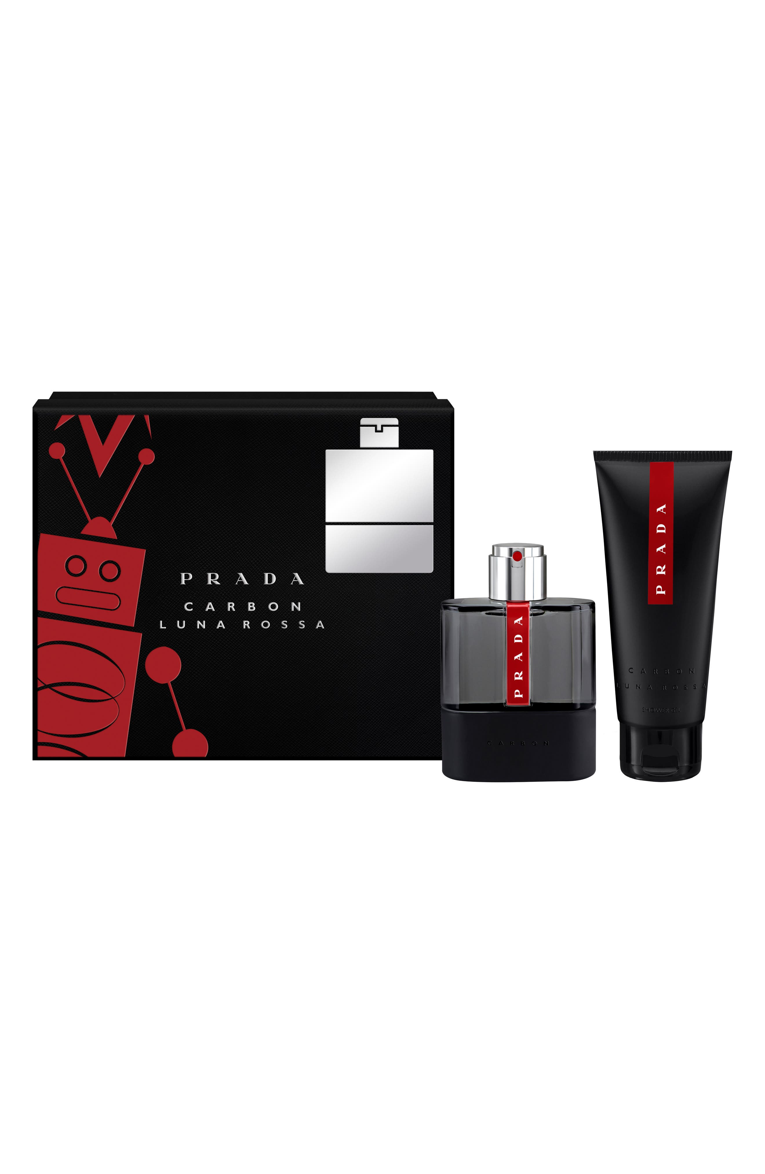 Prada Luna Rossa Carbon Set ($104 Value)