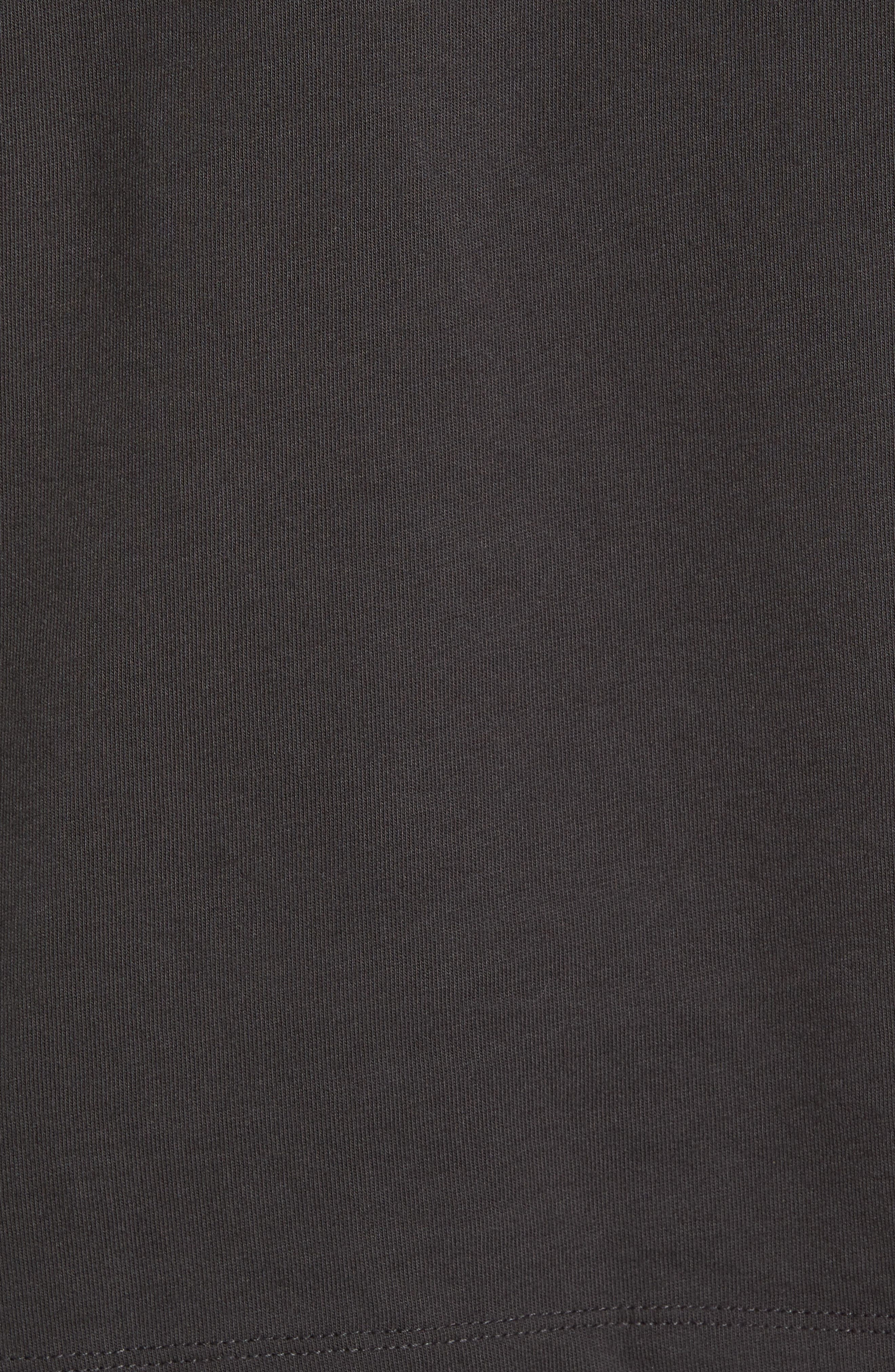 Bands Back T-Shirt,                             Alternate thumbnail 5, color,                             Coal